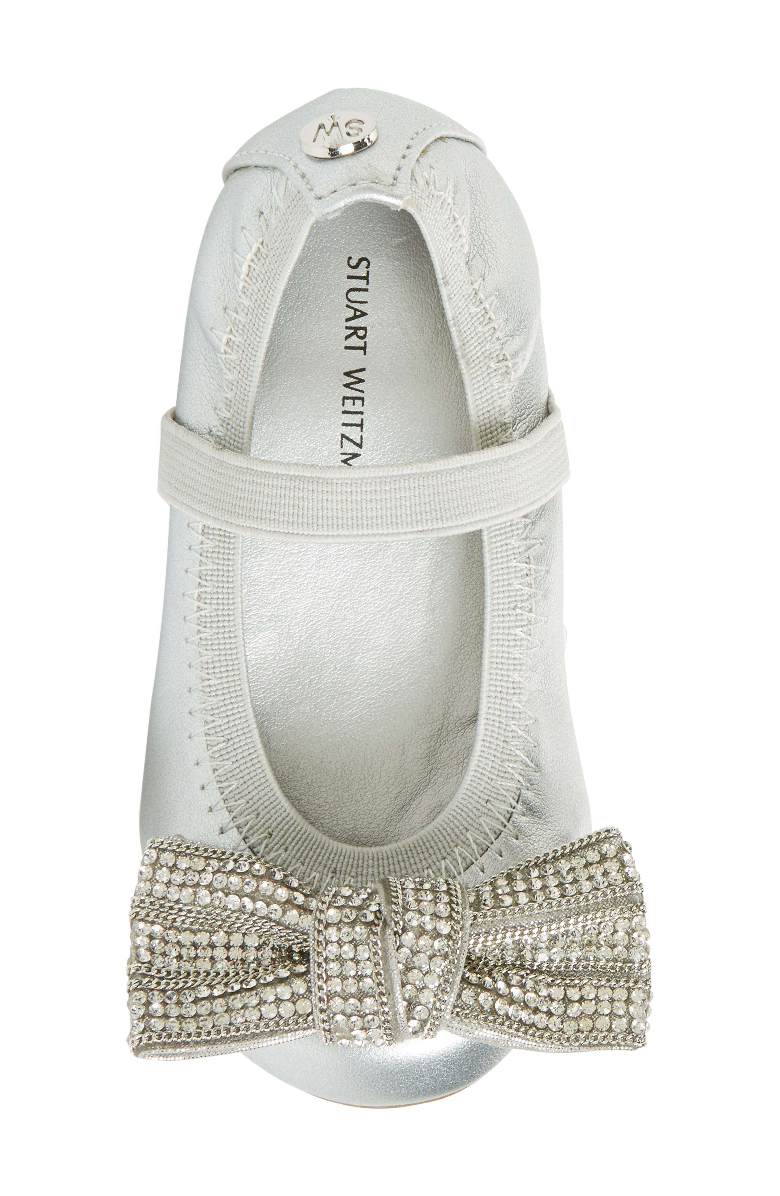 Fannie Embellished Bow Mary Jane Flat,                             Alternate thumbnail 13, color,