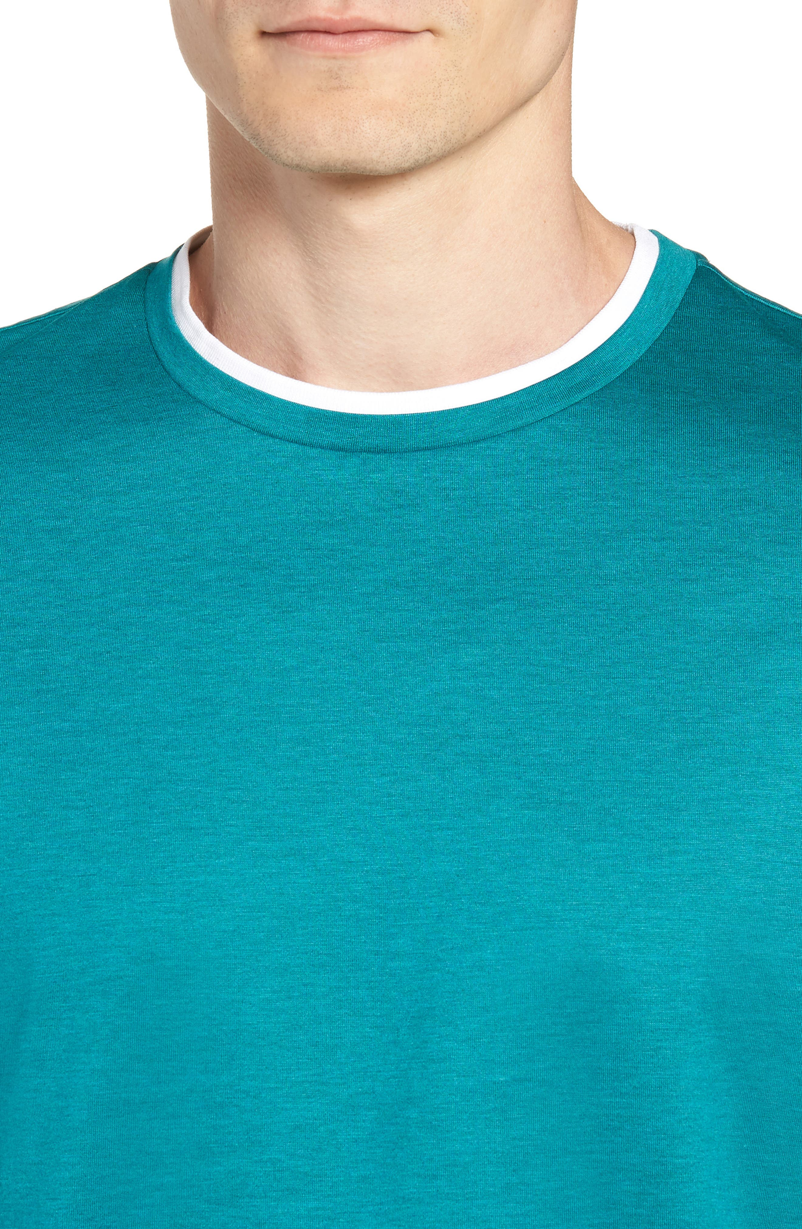 Taber Regular Fit T-Shirt,                             Alternate thumbnail 4, color,                             GREEN