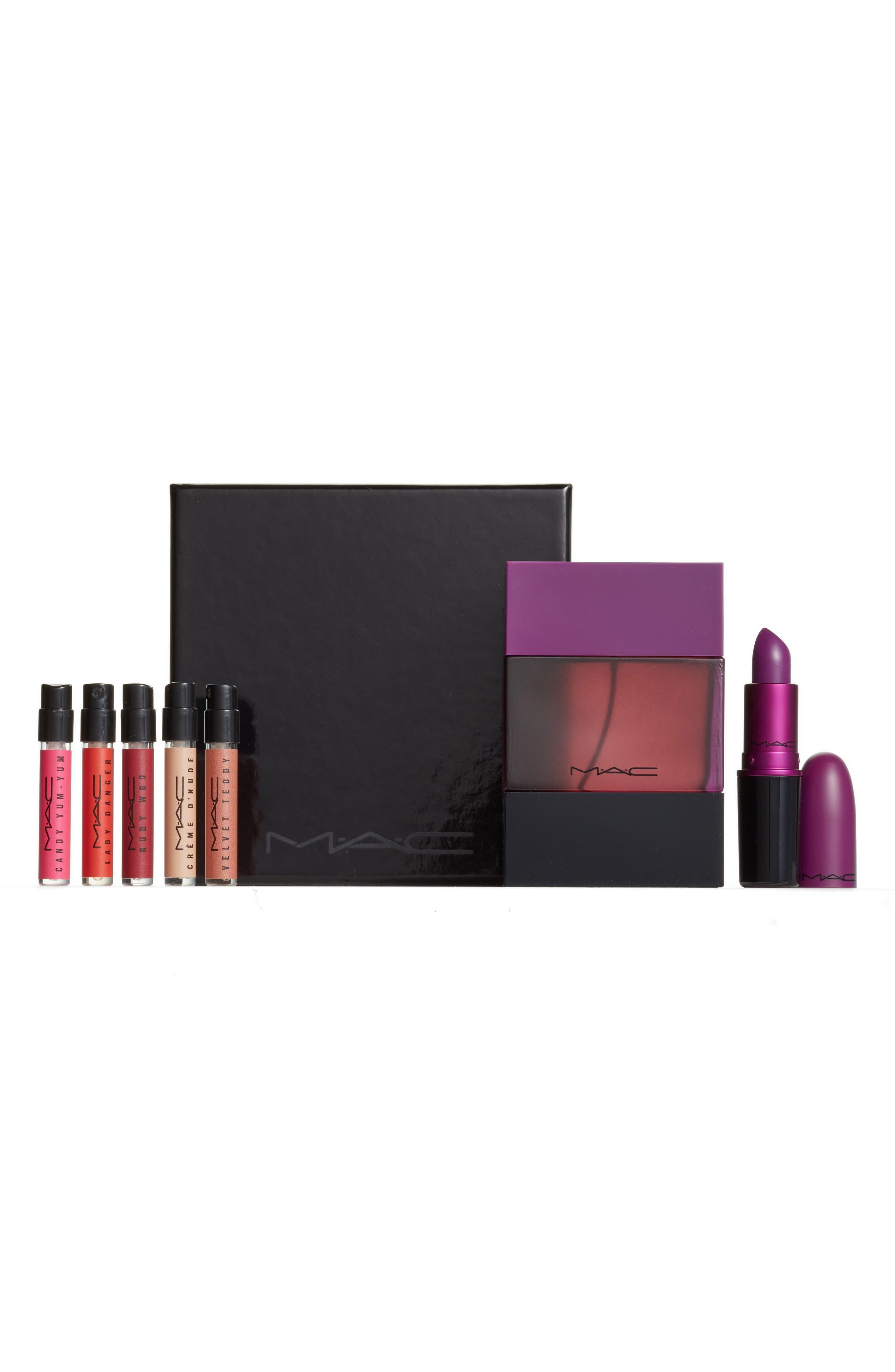 MAC My Heroine Lipstick & Shadescent Fragrance Set,                         Main,                         color, 500