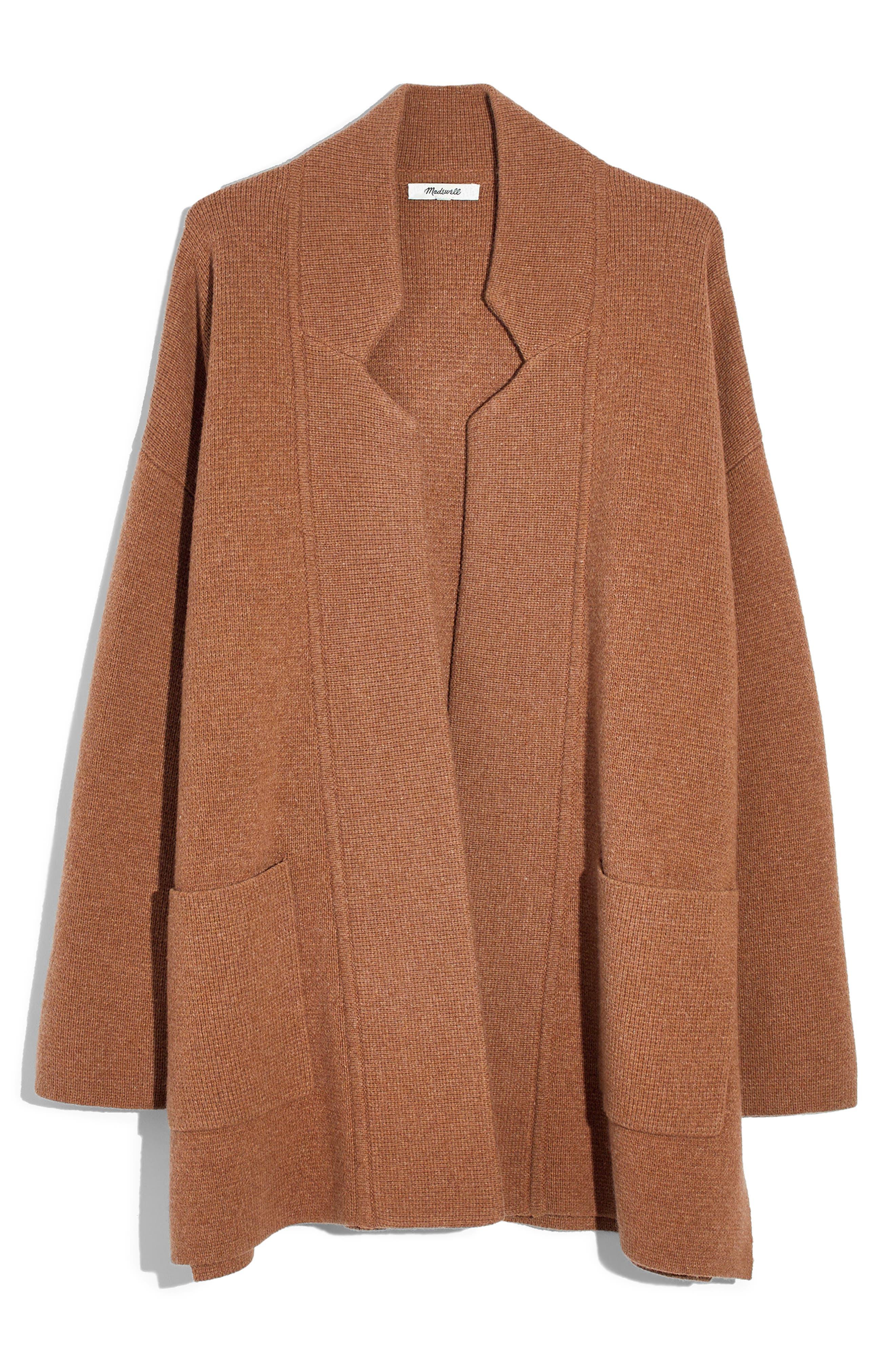 Madewell Spencer Sweater Coat Regular Plus Size Nordstrom