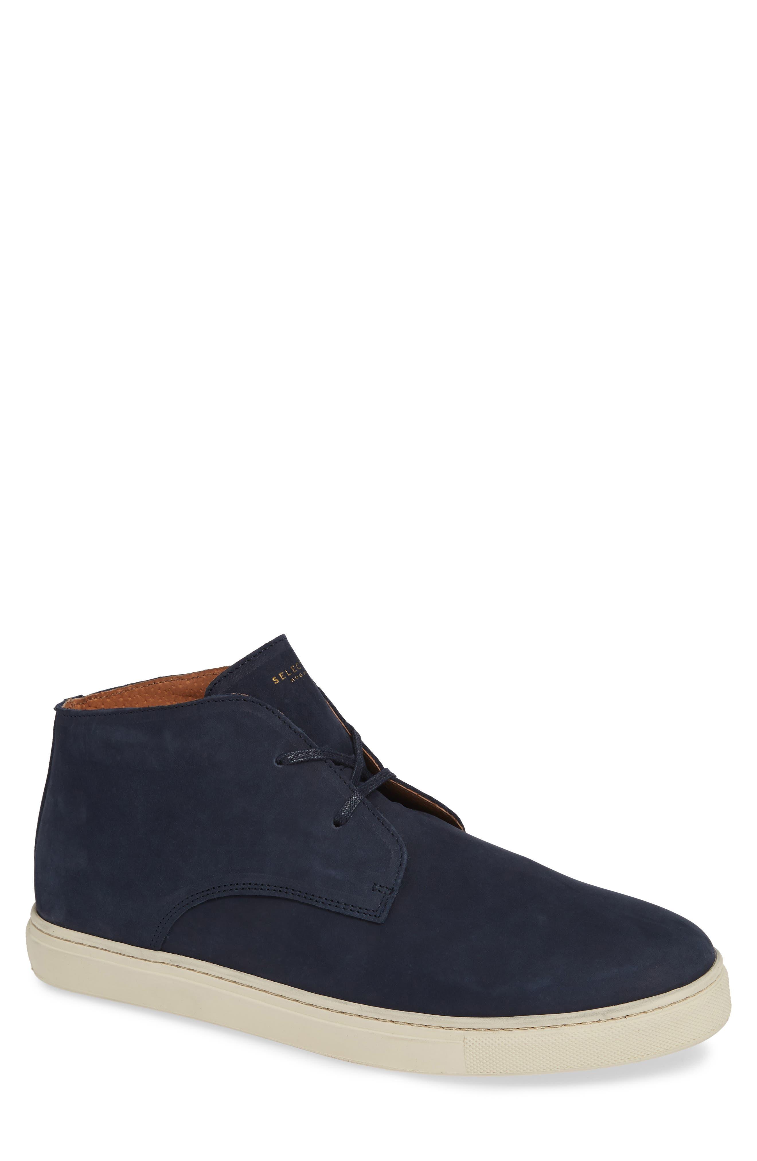 Dempsey Chukka Sneaker,                             Main thumbnail 1, color,                             DARK NAVY