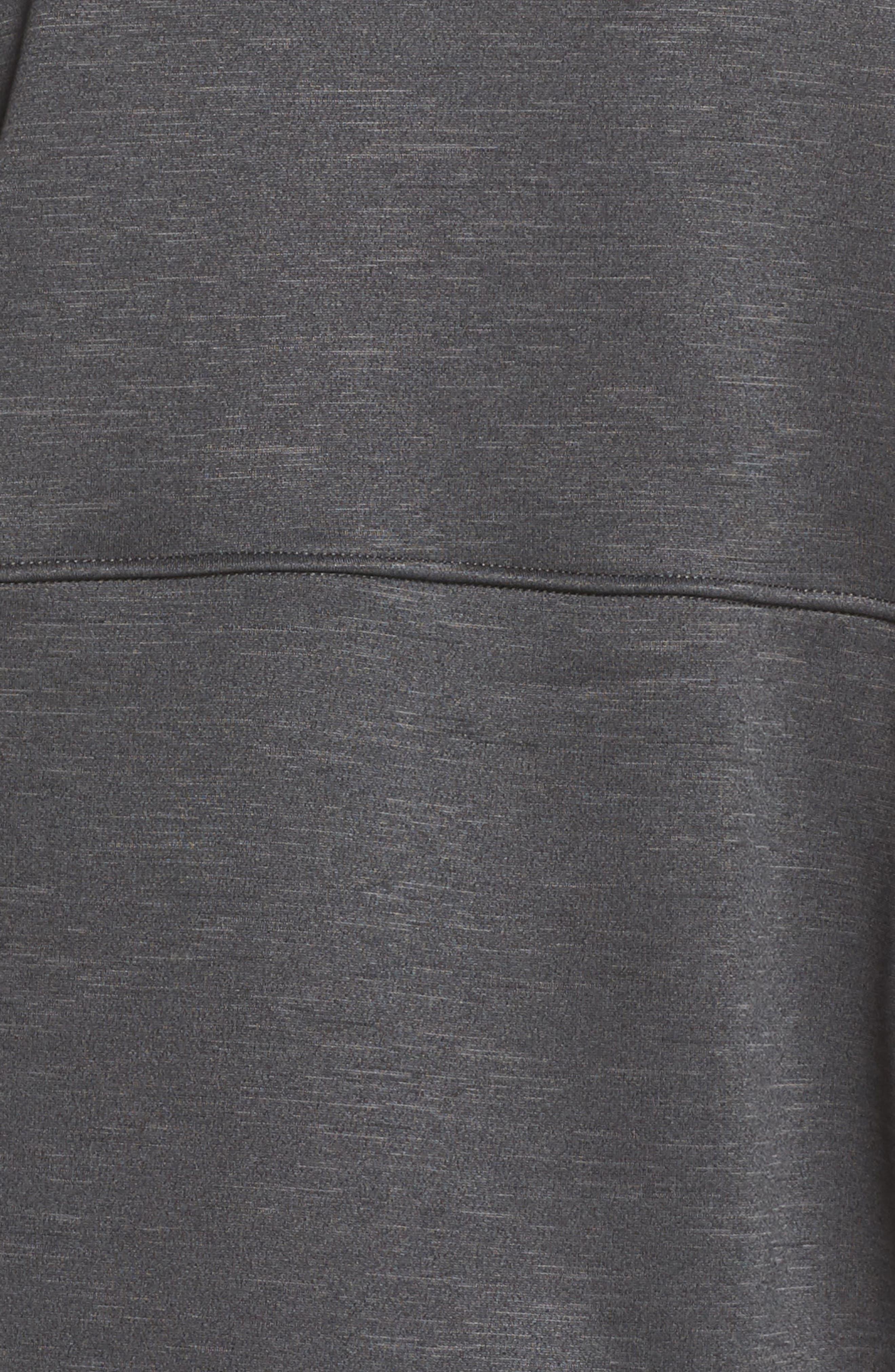 Cozy Slacker Jacket,                             Alternate thumbnail 7, color,                             TNF DARK GREY HEATHER