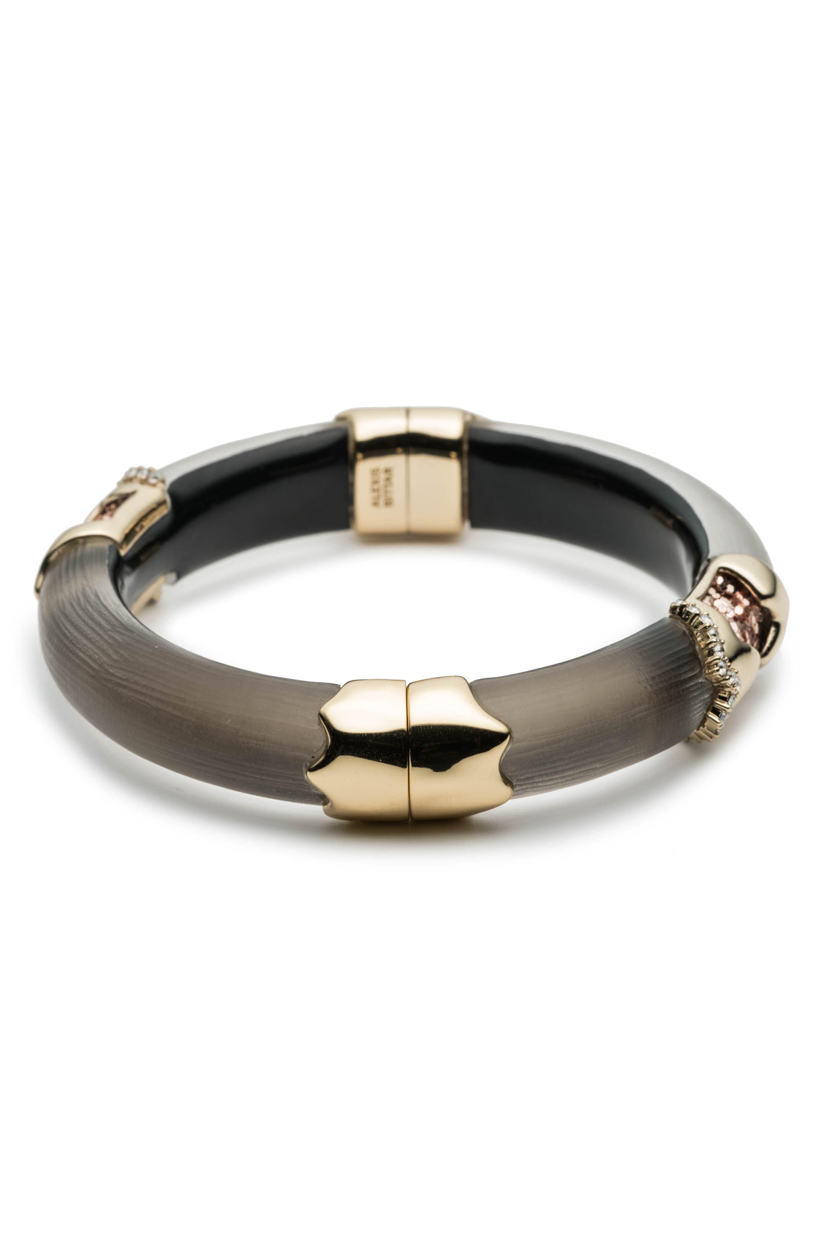 Lucite<sup>®</sup> Side Hinge Bracelet,                             Alternate thumbnail 3, color,                             020
