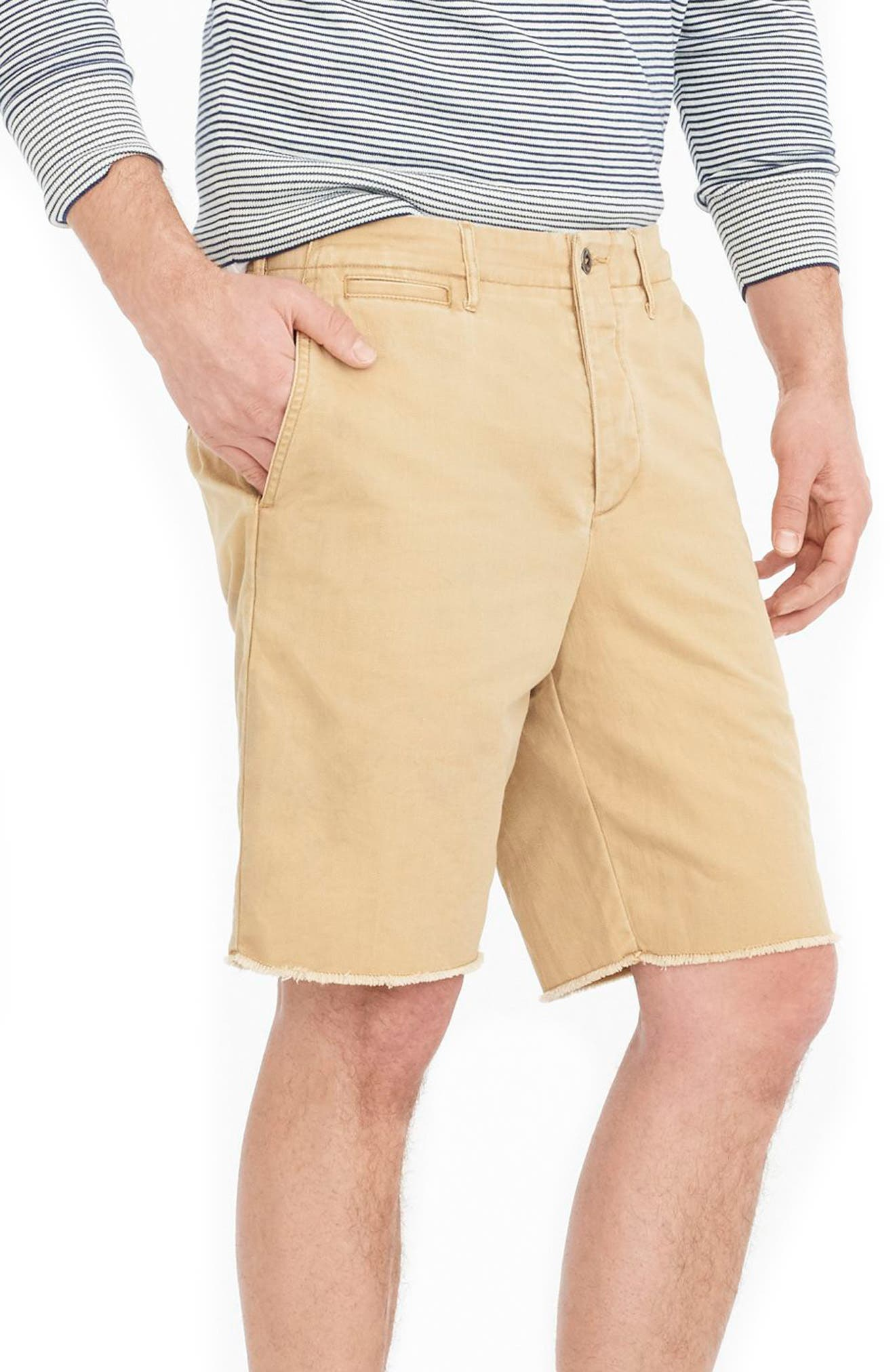 Distressed Officer's Shorts,                             Alternate thumbnail 3, color,                             251