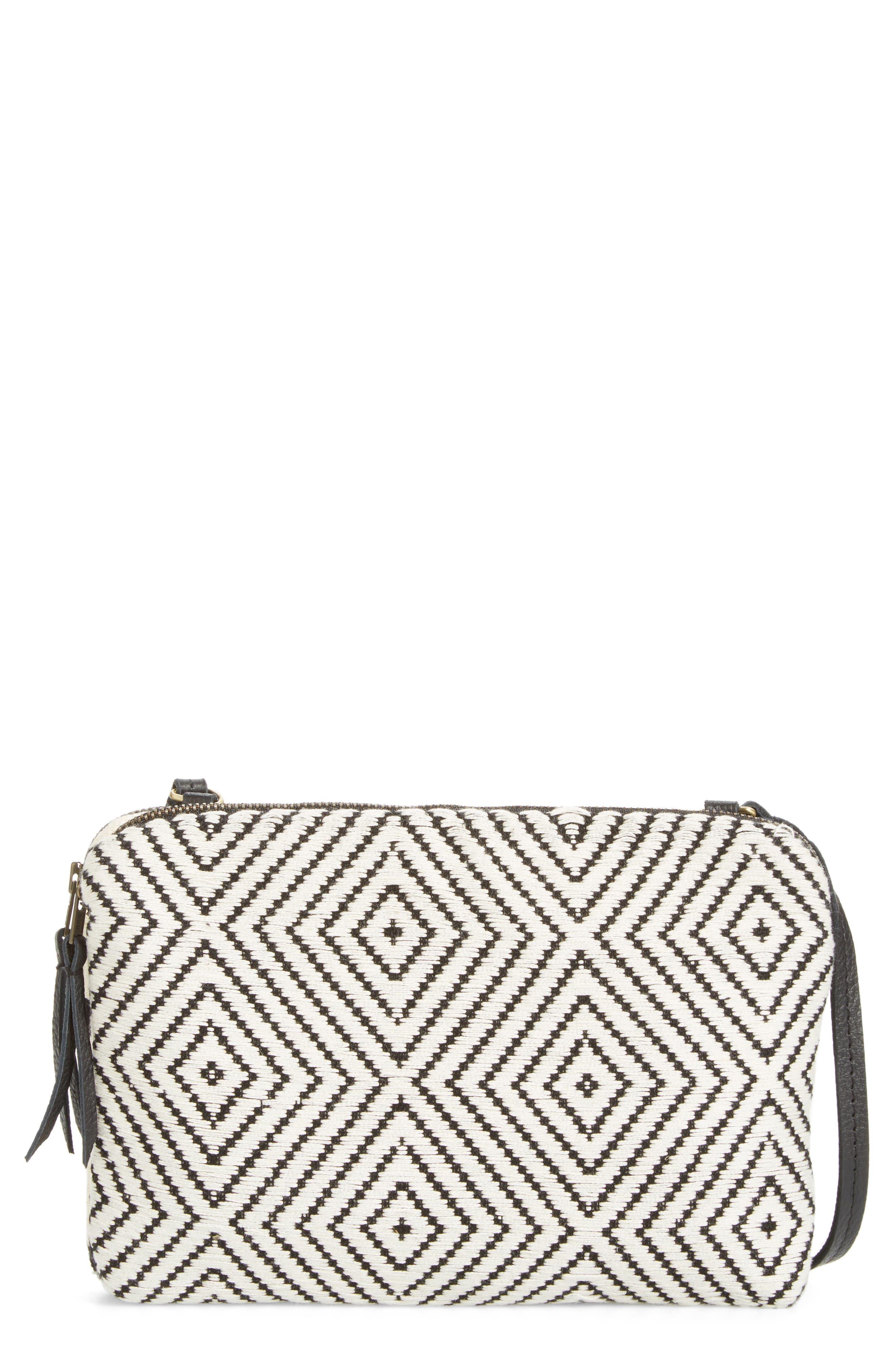 Andrea Canvas Crossbody Bag,                         Main,                         color,