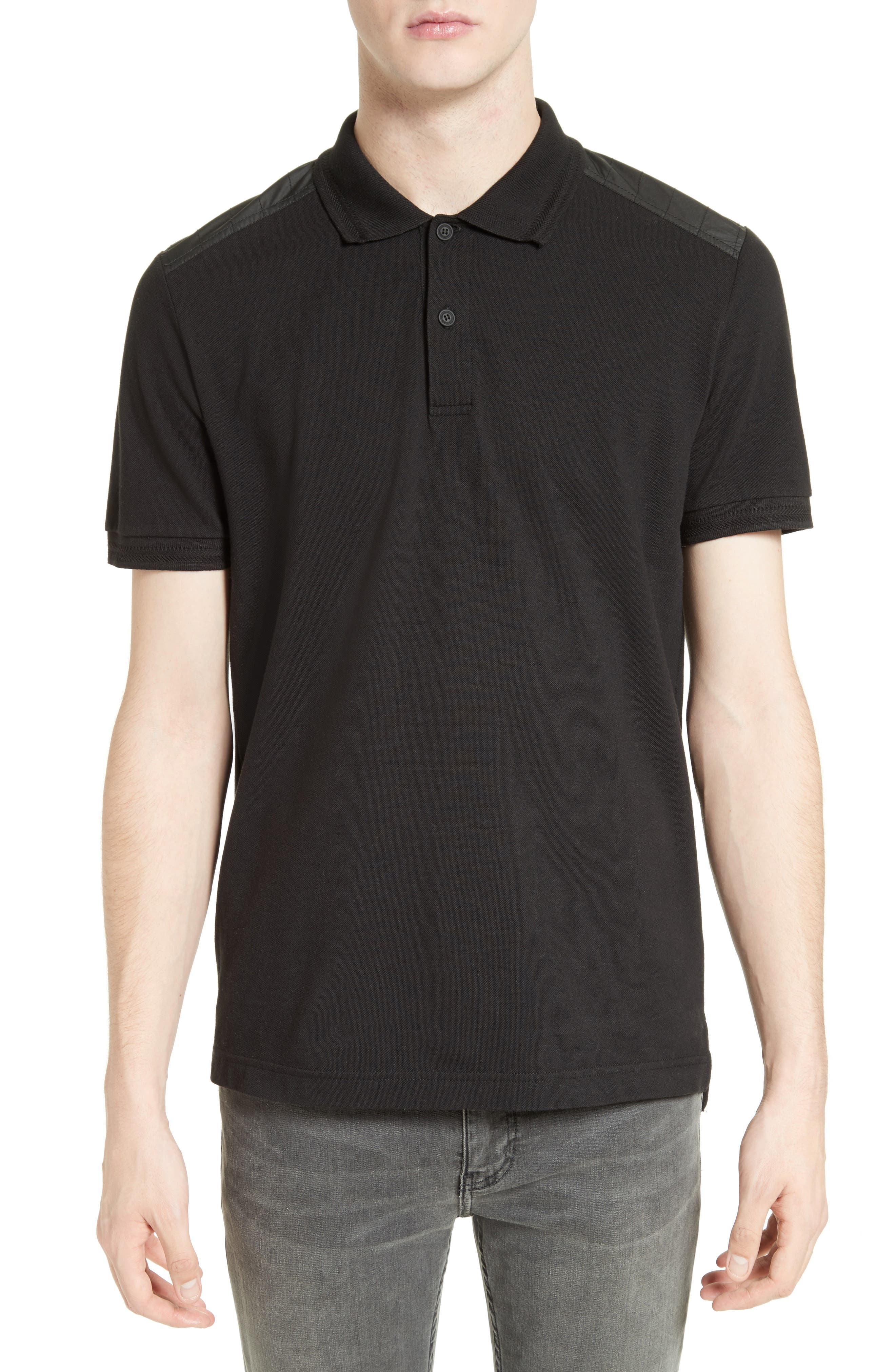 HItchin Extra Trim Fit Piqué Polo,                             Main thumbnail 3, color,