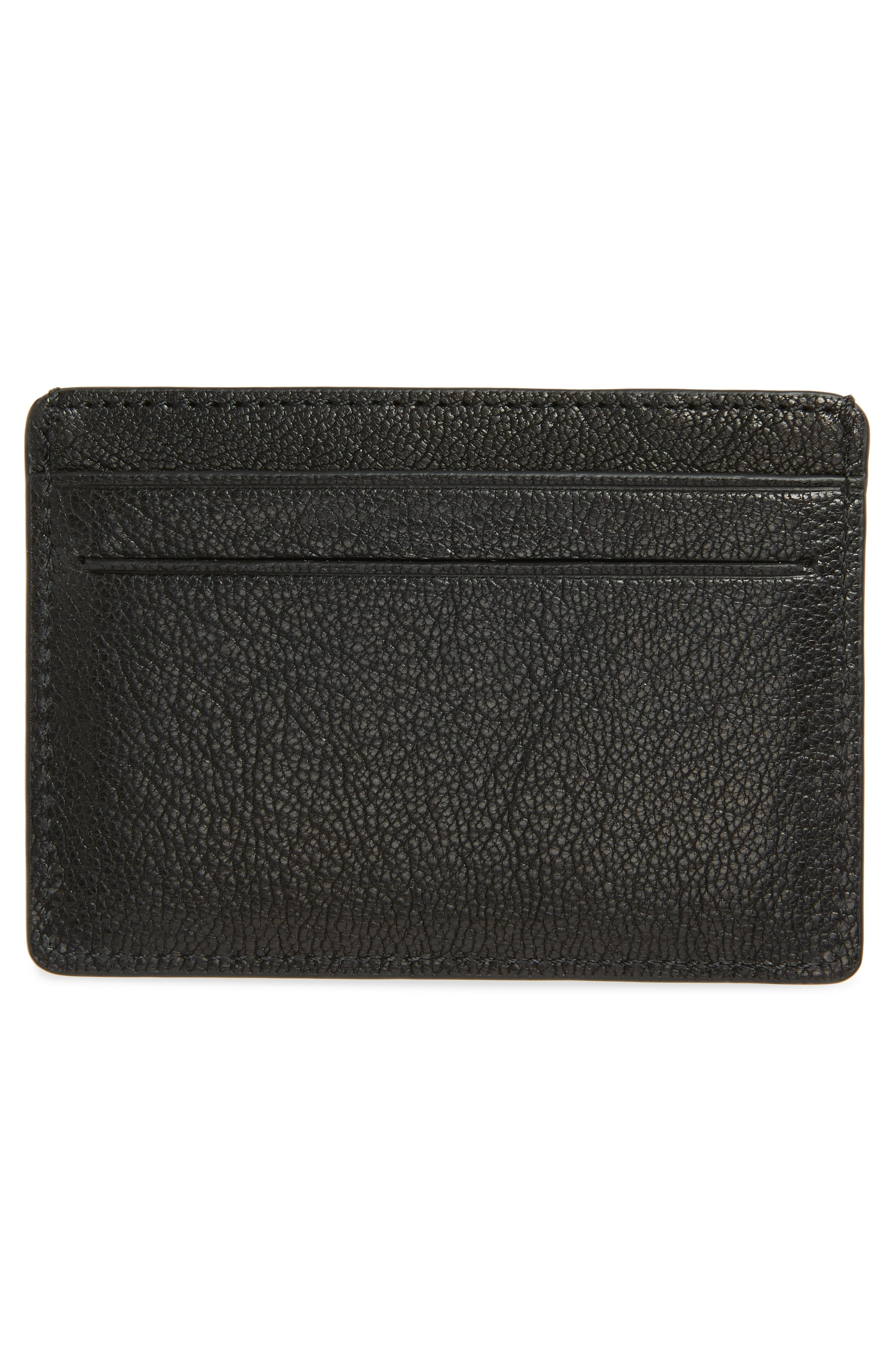 PAUL SMITH,                             Leather Card Case,                             Alternate thumbnail 2, color,                             001