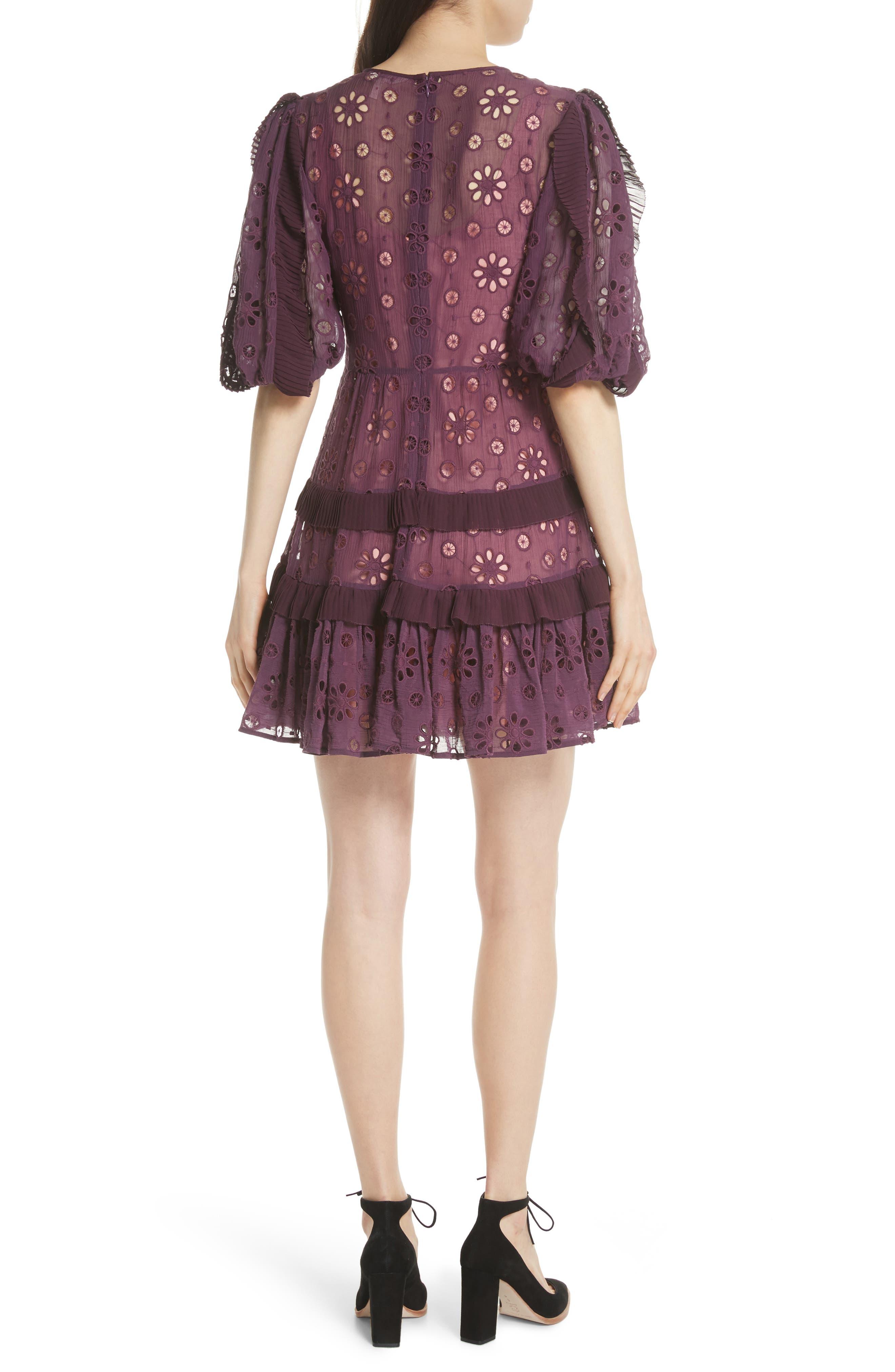 Pinwheel Eyelet Dress,                             Alternate thumbnail 2, color,