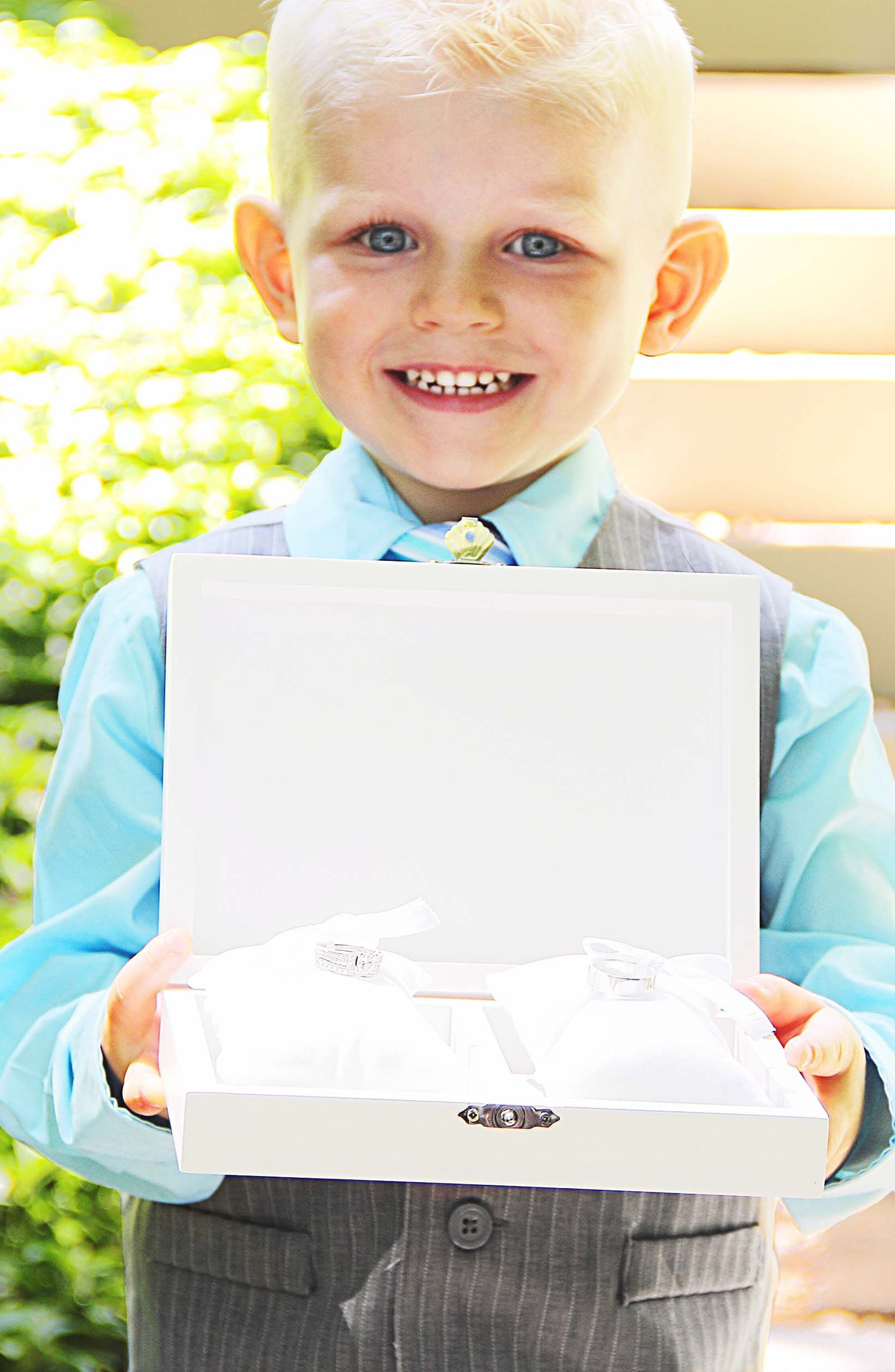 Love Wedding Ring Box,                             Alternate thumbnail 5, color,                             100