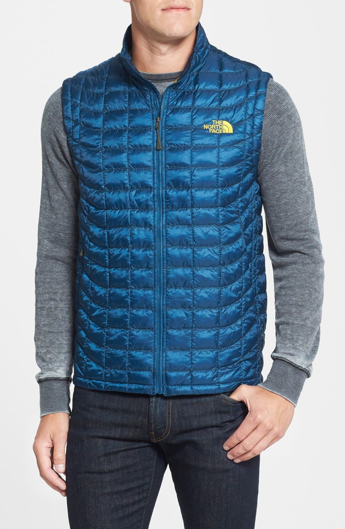 'ThermoBall<sup>™</sup>' Packable PrimaLoft<sup>®</sup> Vest,                             Main thumbnail 16, color,