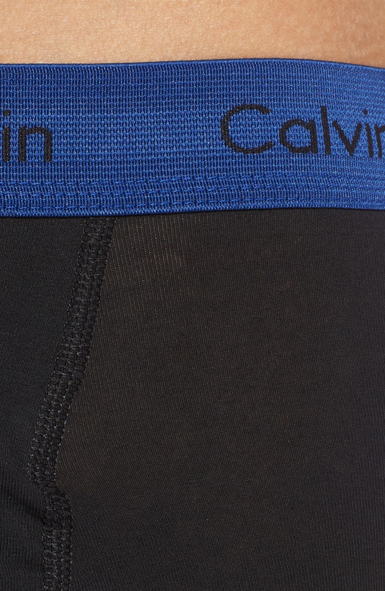 CALVIN KLEIN,                             3-Pack Boxer Briefs,                             Alternate thumbnail 5, color,                             009