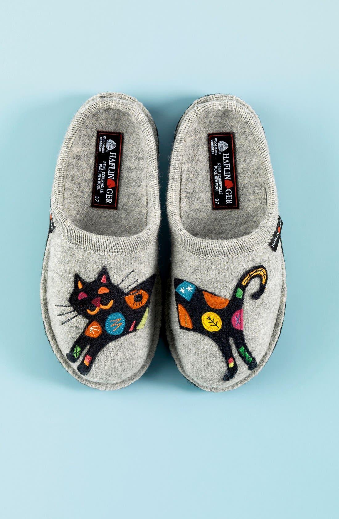 'Cat' Slipper,                             Alternate thumbnail 5, color,                             059