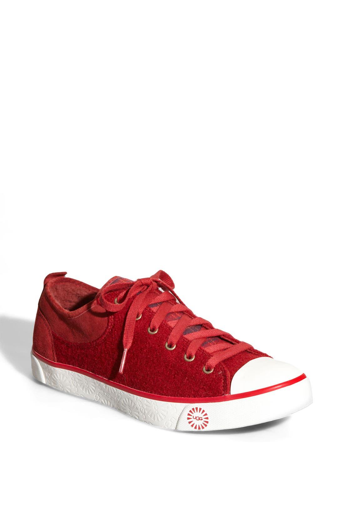 UGG<SUP>®</SUP> Australia 'Evera' Suede Sneaker, Main, color, 003