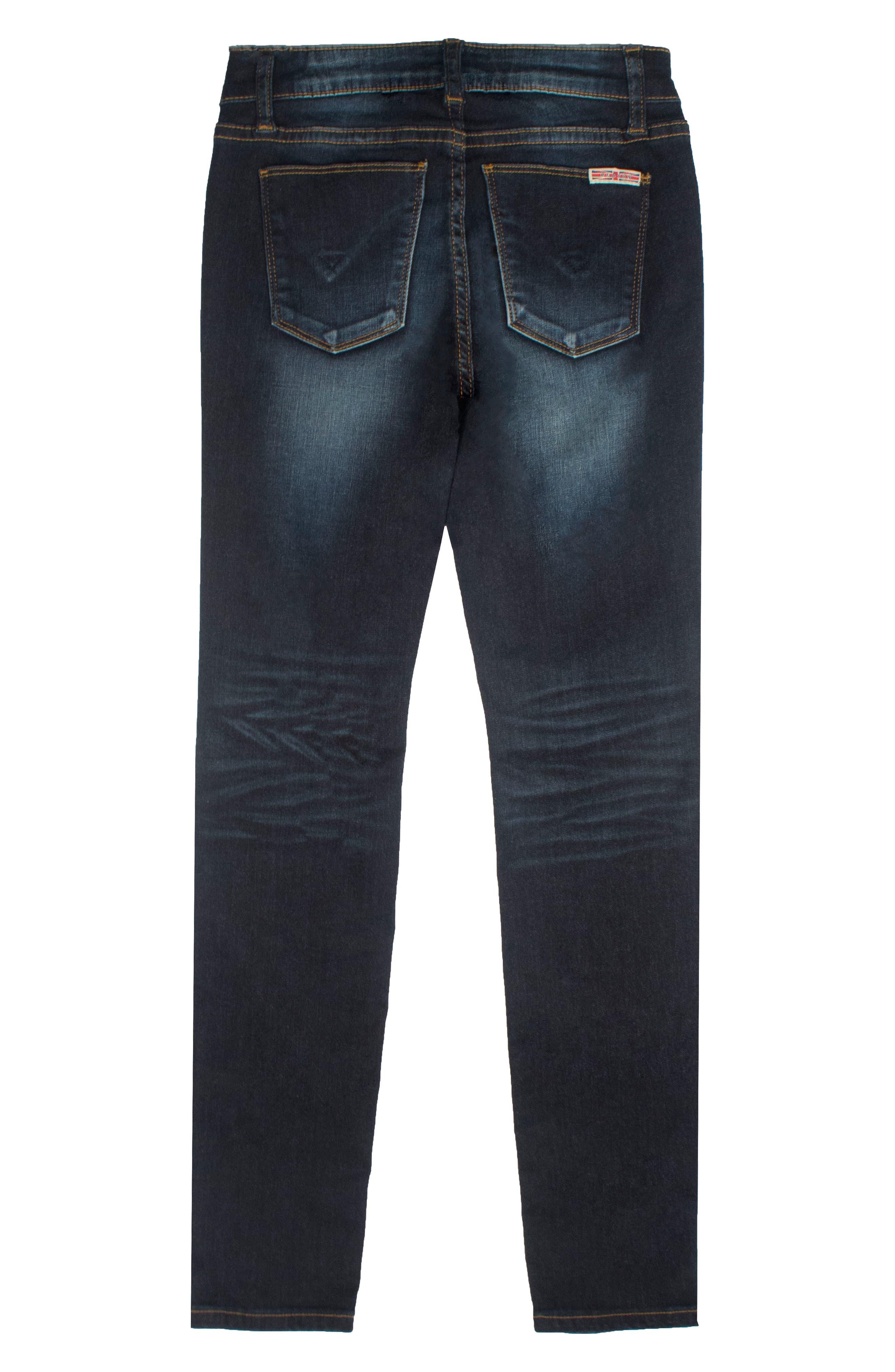 Christa Super Stretch Skinny Jeans,                         Main,                         color, 409