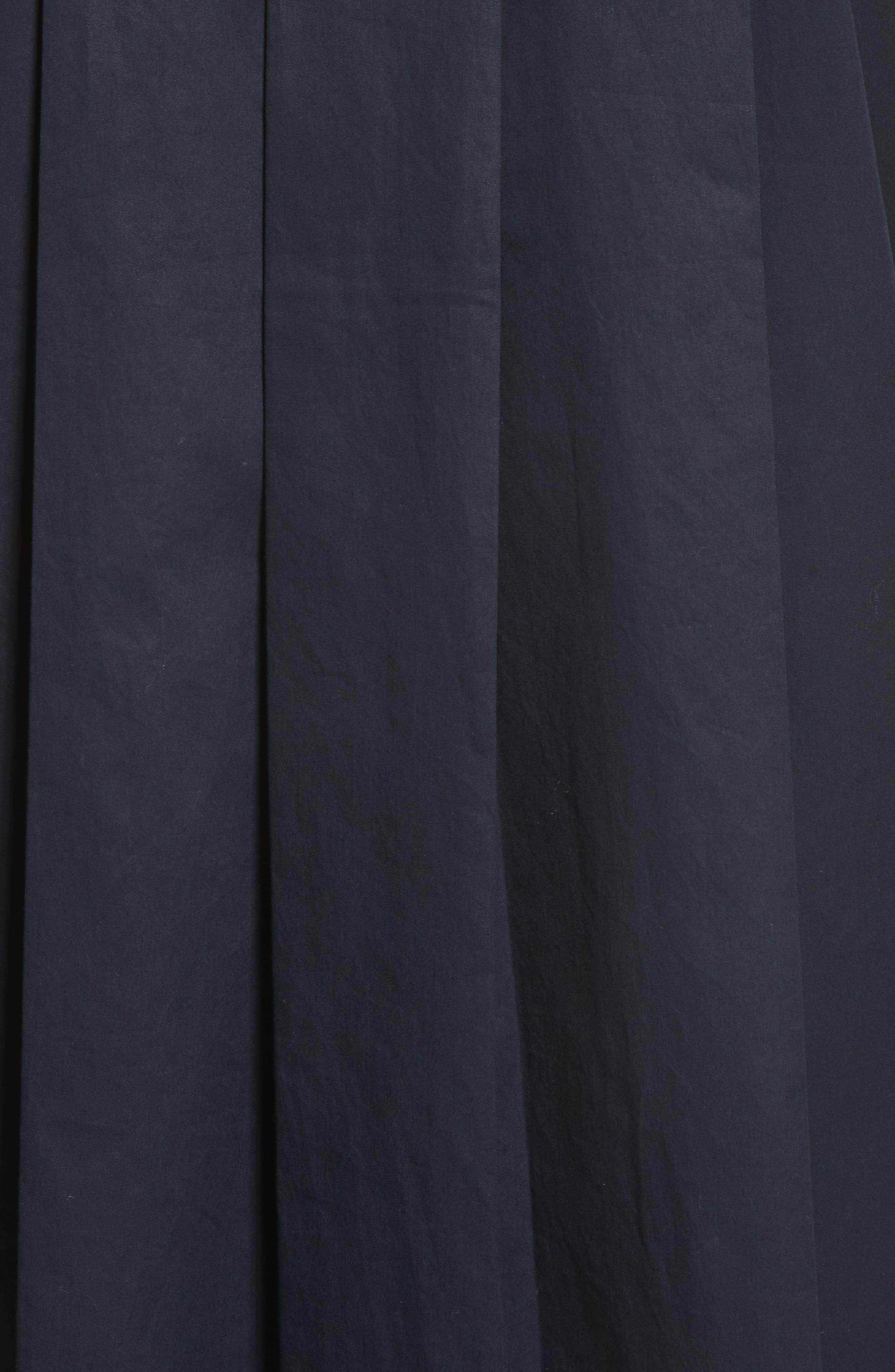 Carmine Cotton Shirtdress,                             Alternate thumbnail 5, color,                             005