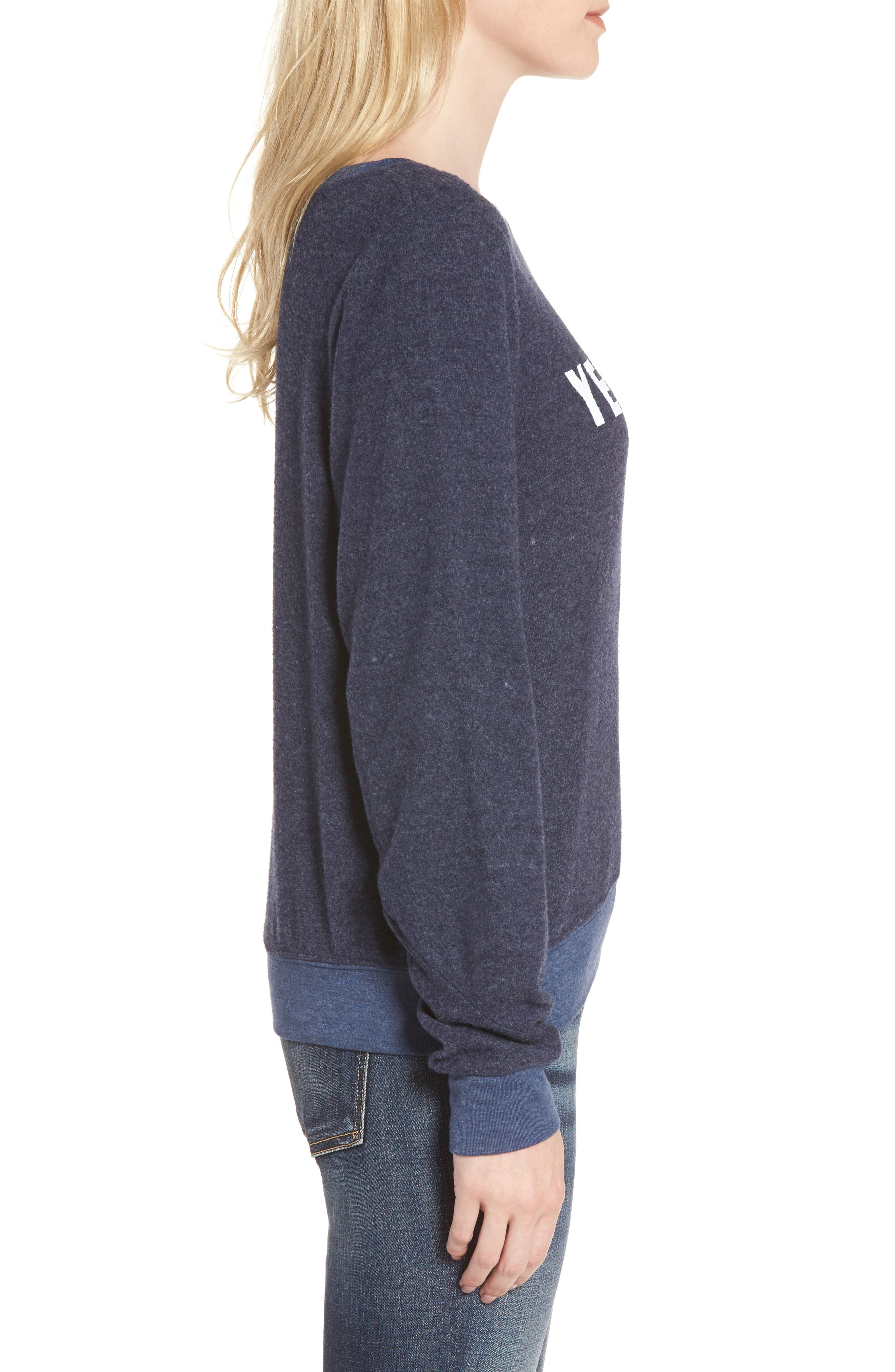 Yes, Please Sweatshirt,                             Alternate thumbnail 3, color,                             401