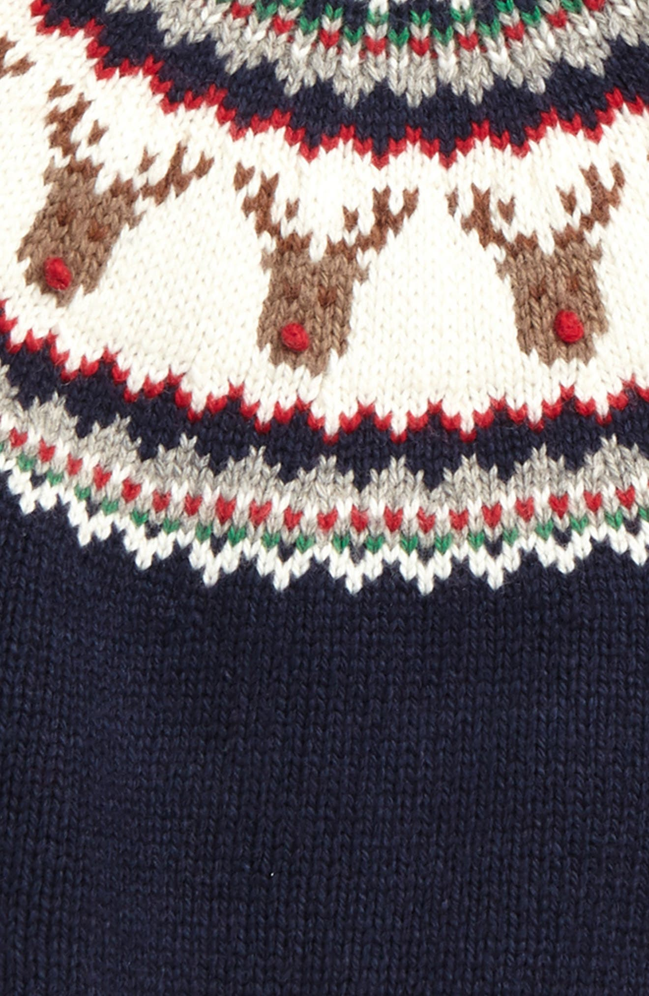 Fair Isle Sweater,                             Alternate thumbnail 4, color,