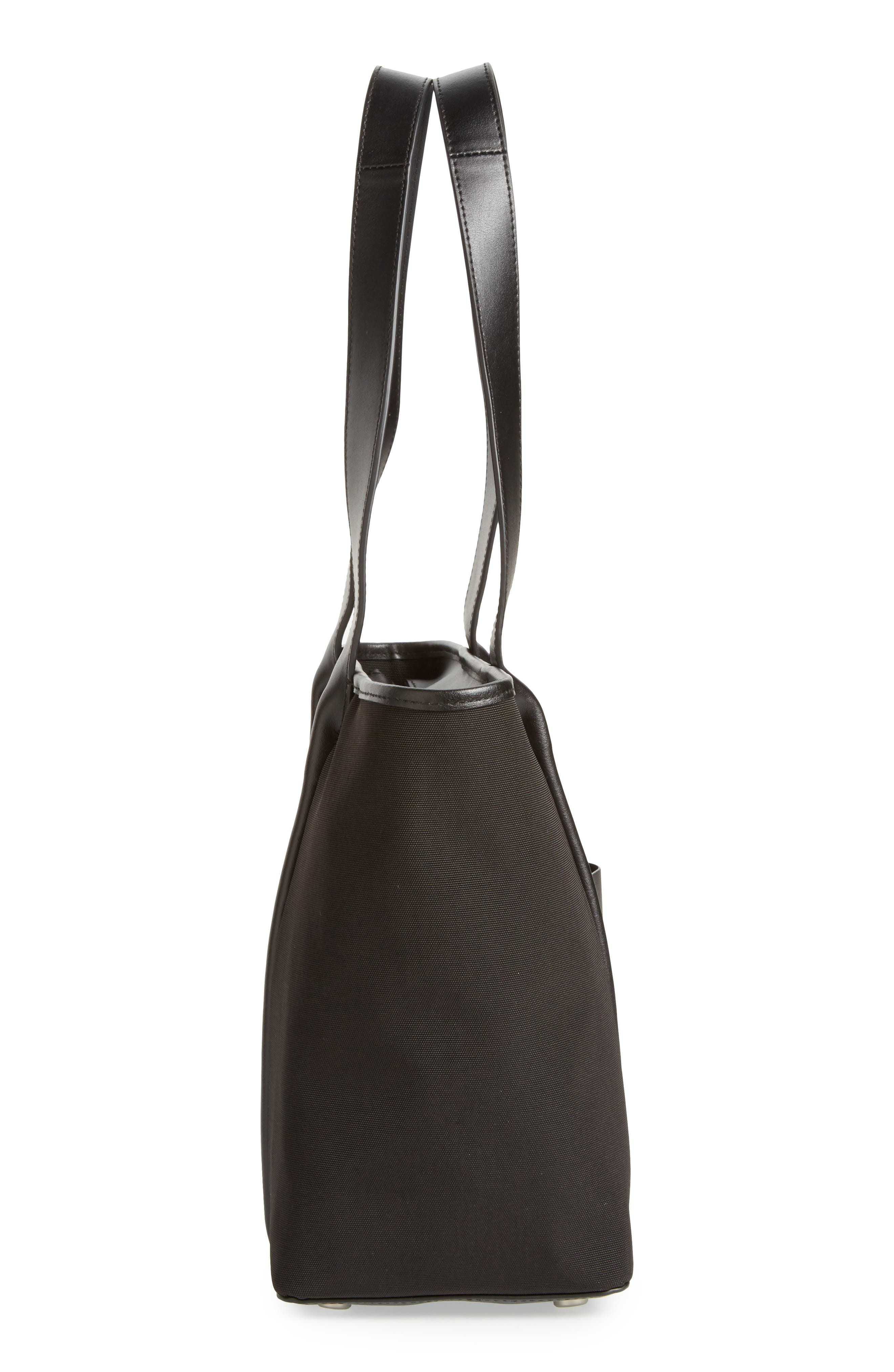 Lisabet Coated Twill Tote,                             Alternate thumbnail 5, color,                             001