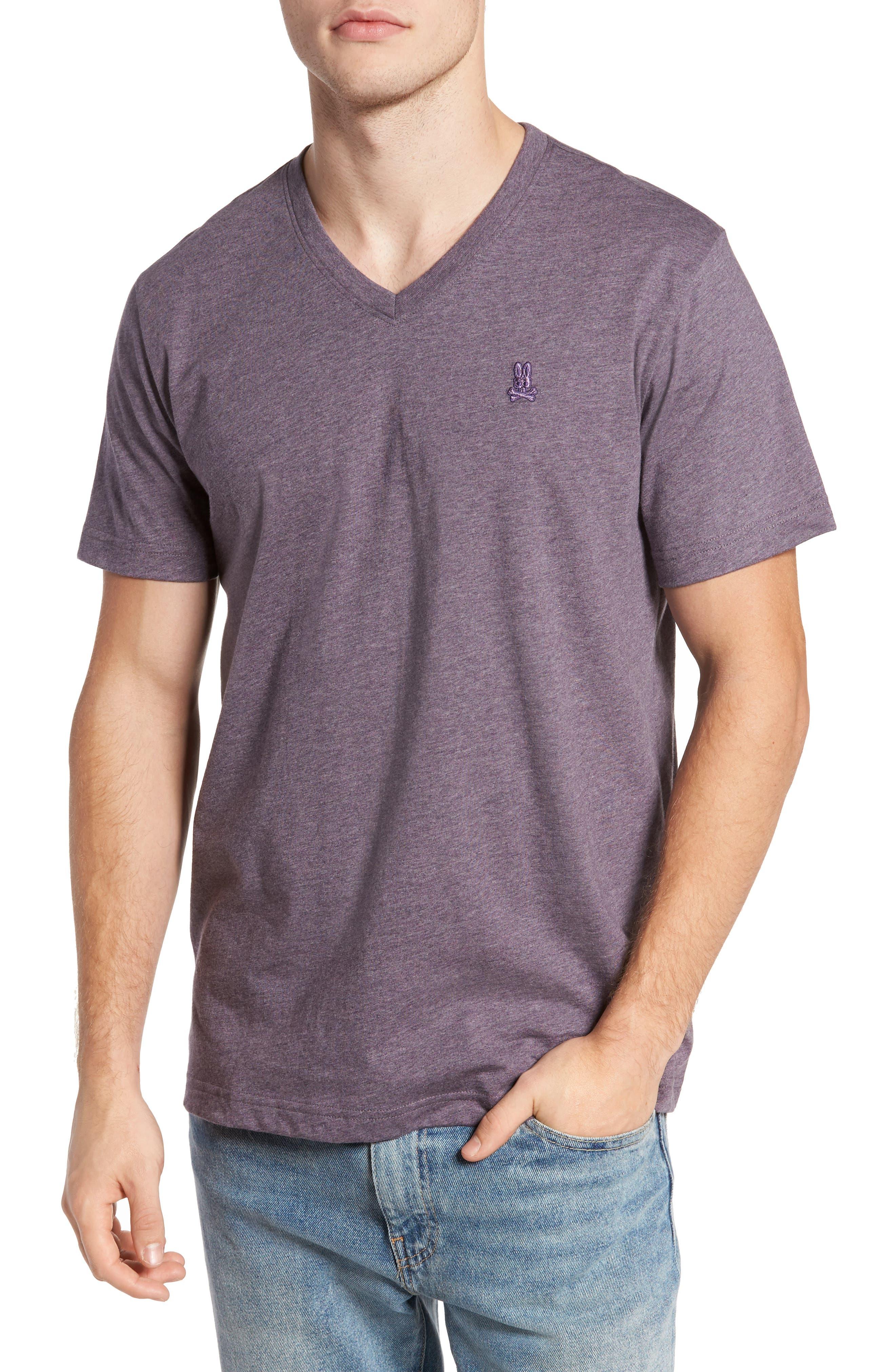 V-Neck T-Shirt,                             Main thumbnail 6, color,