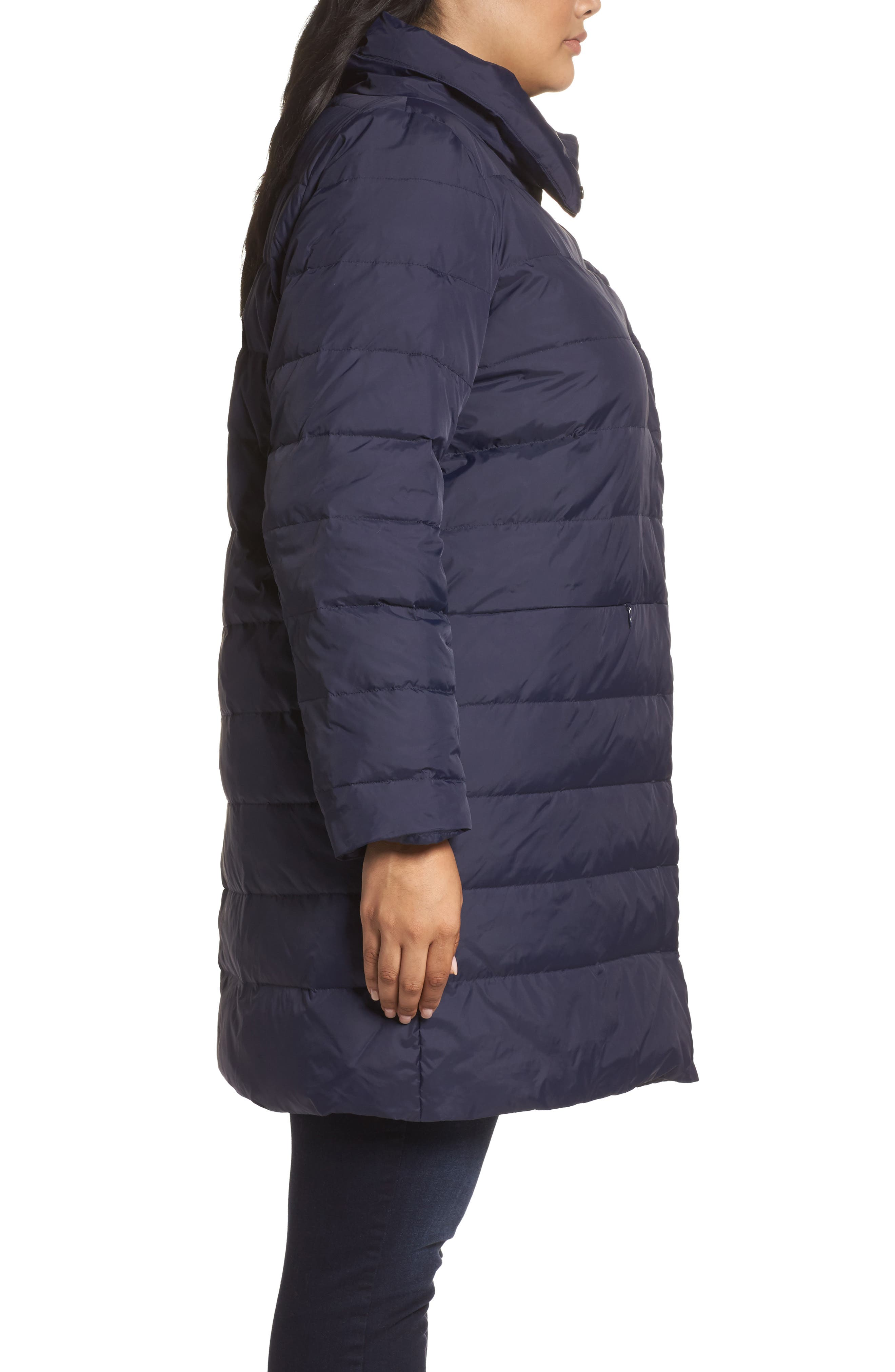 Down Puffer Coat,                             Alternate thumbnail 6, color,