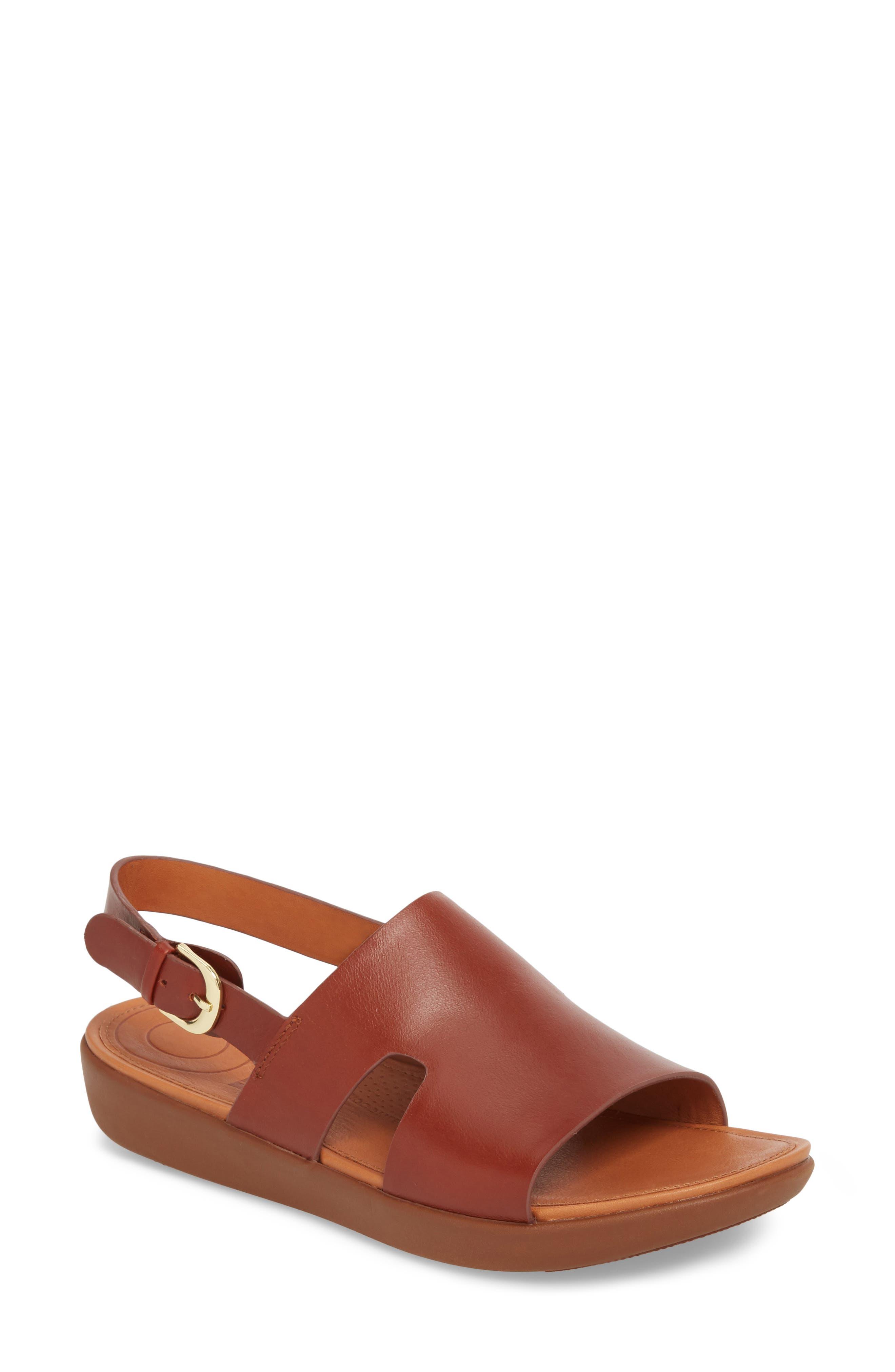 H-Bar Slingback Sandal,                             Main thumbnail 2, color,