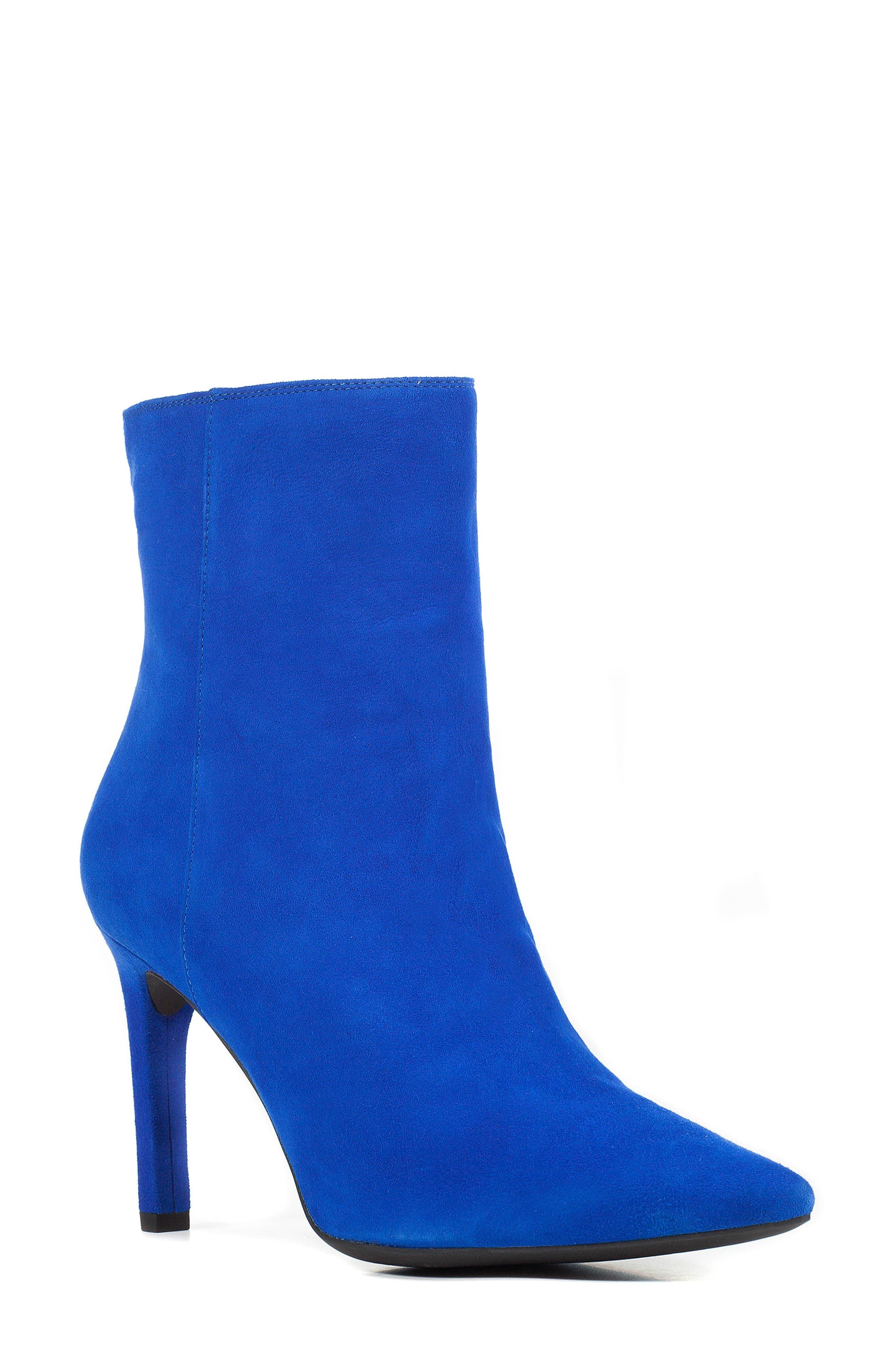 Geox Faviola Bootie, Blue