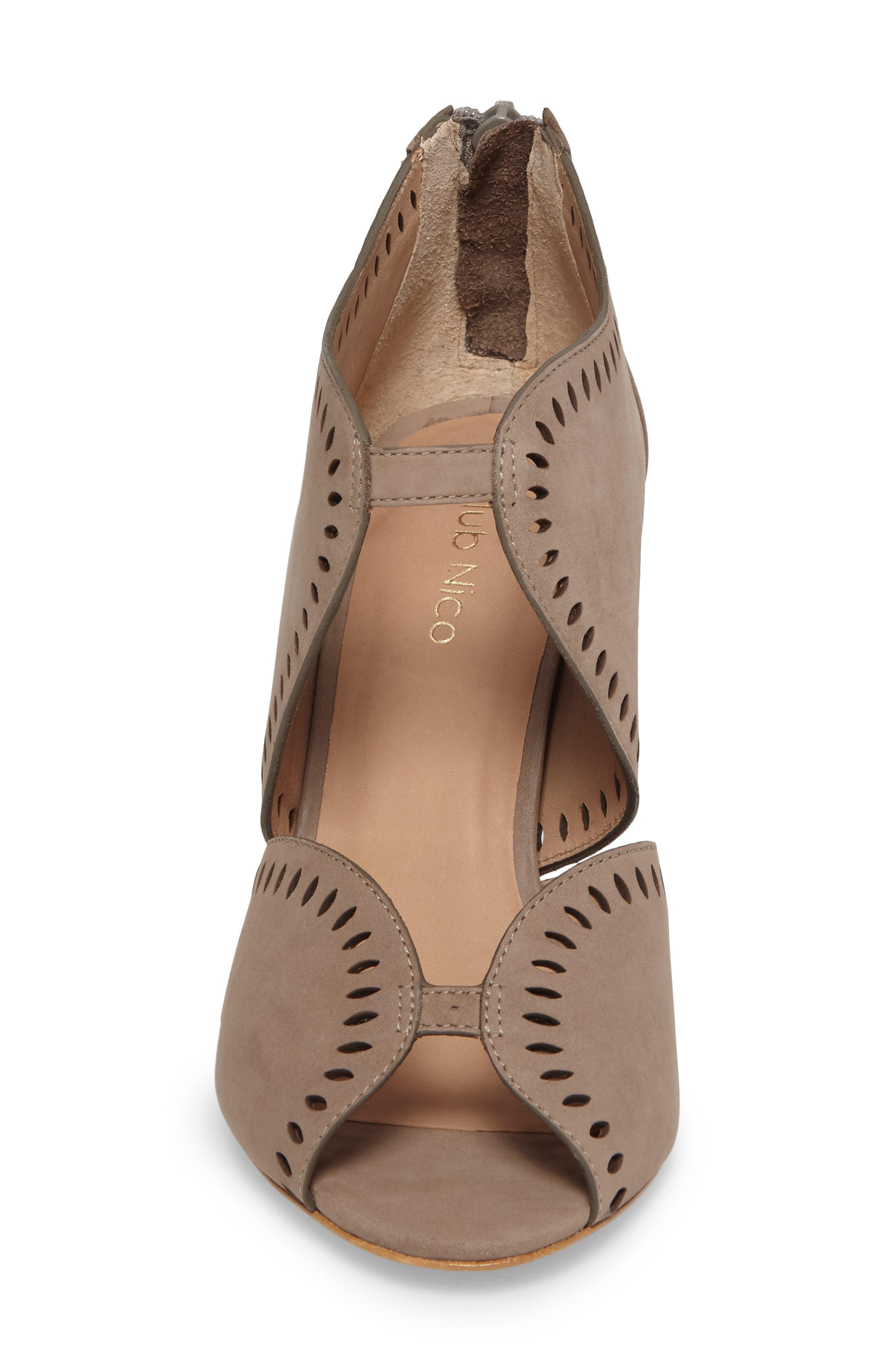 Mallia Perforated Sandal,                             Alternate thumbnail 8, color,