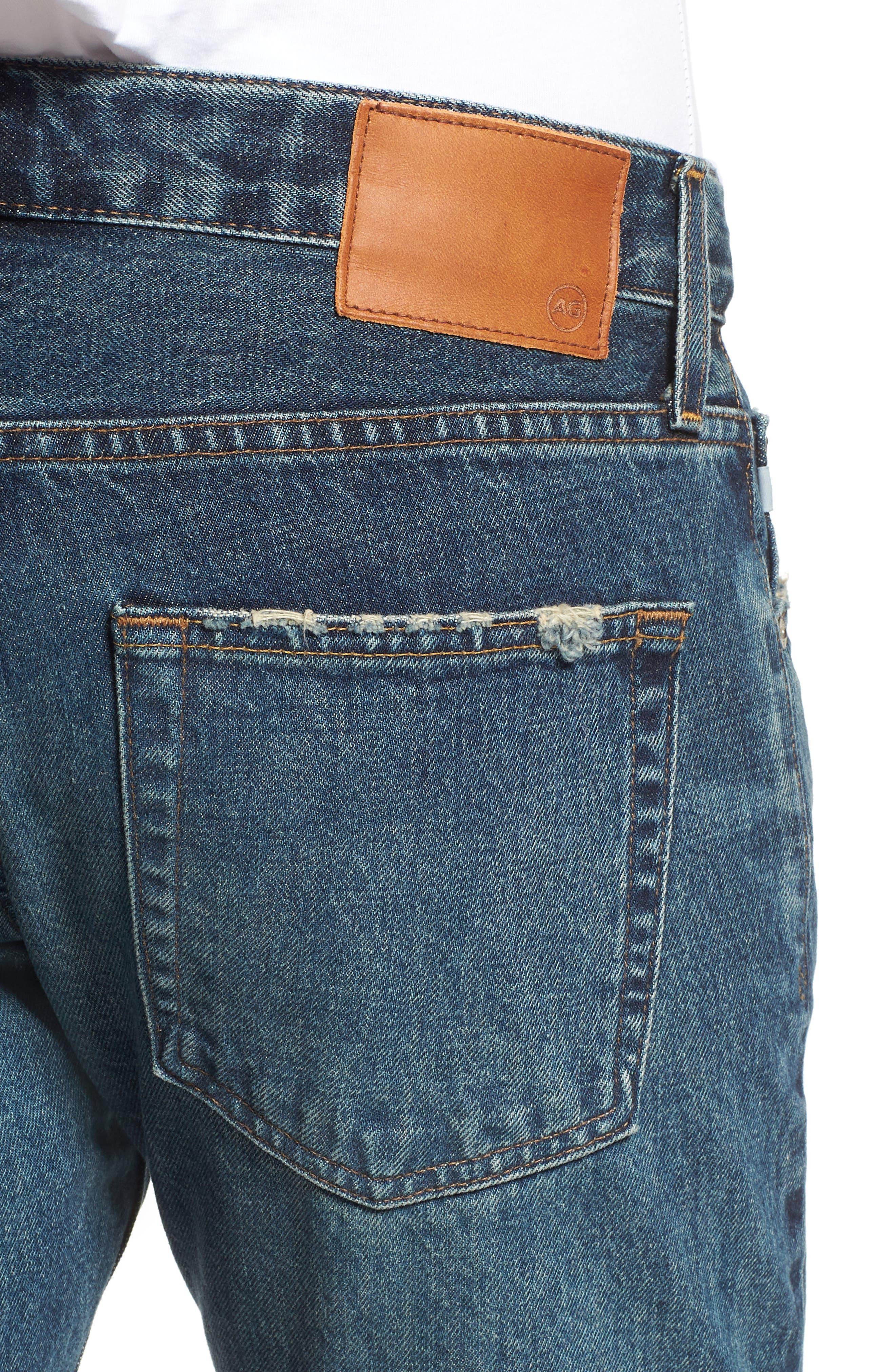Tellis Slim Fit Jeans,                             Alternate thumbnail 4, color,                             417