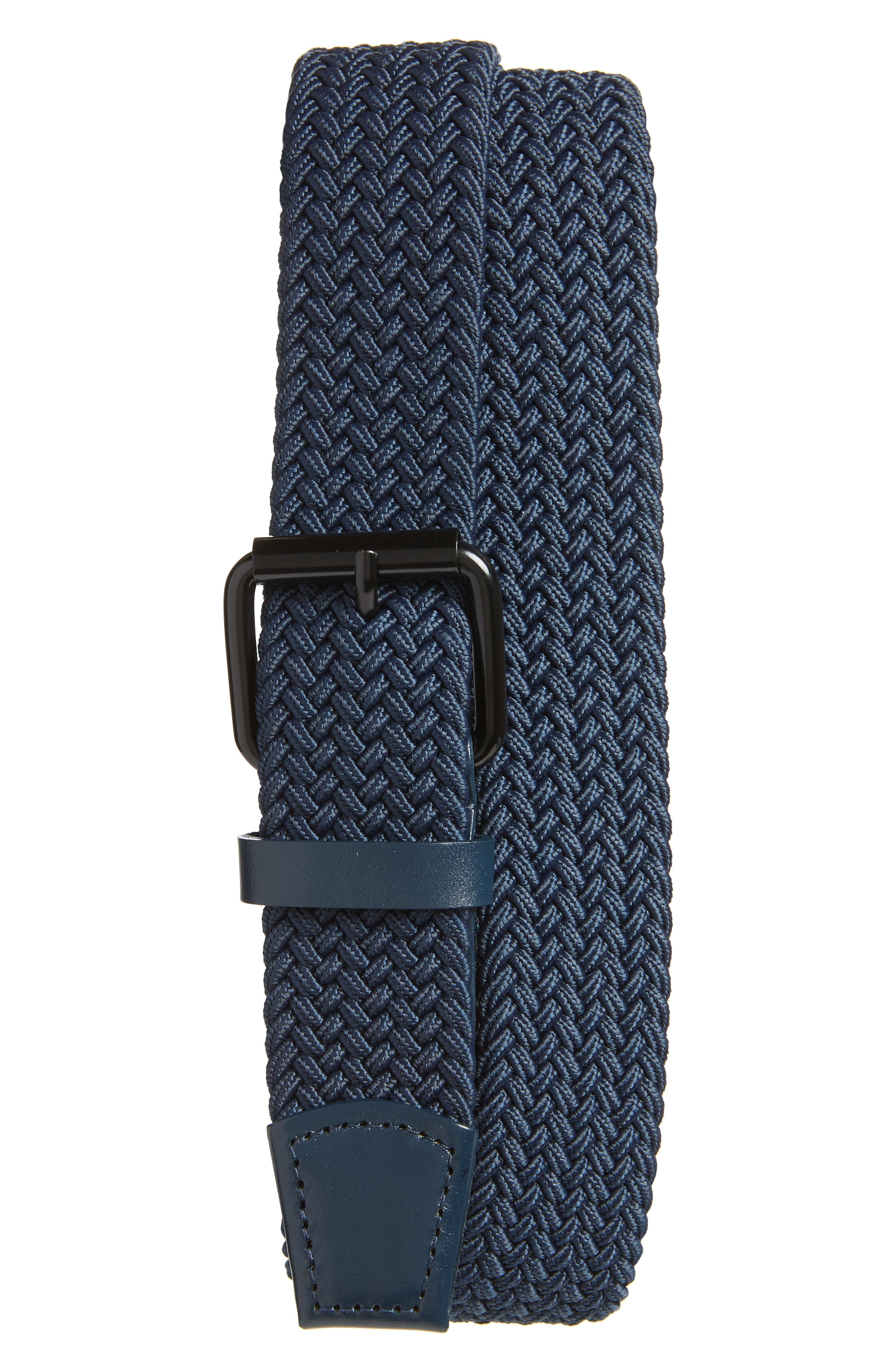 Saturdays Nyc Shane Woven Belt, Size One Size - Indigo Dye