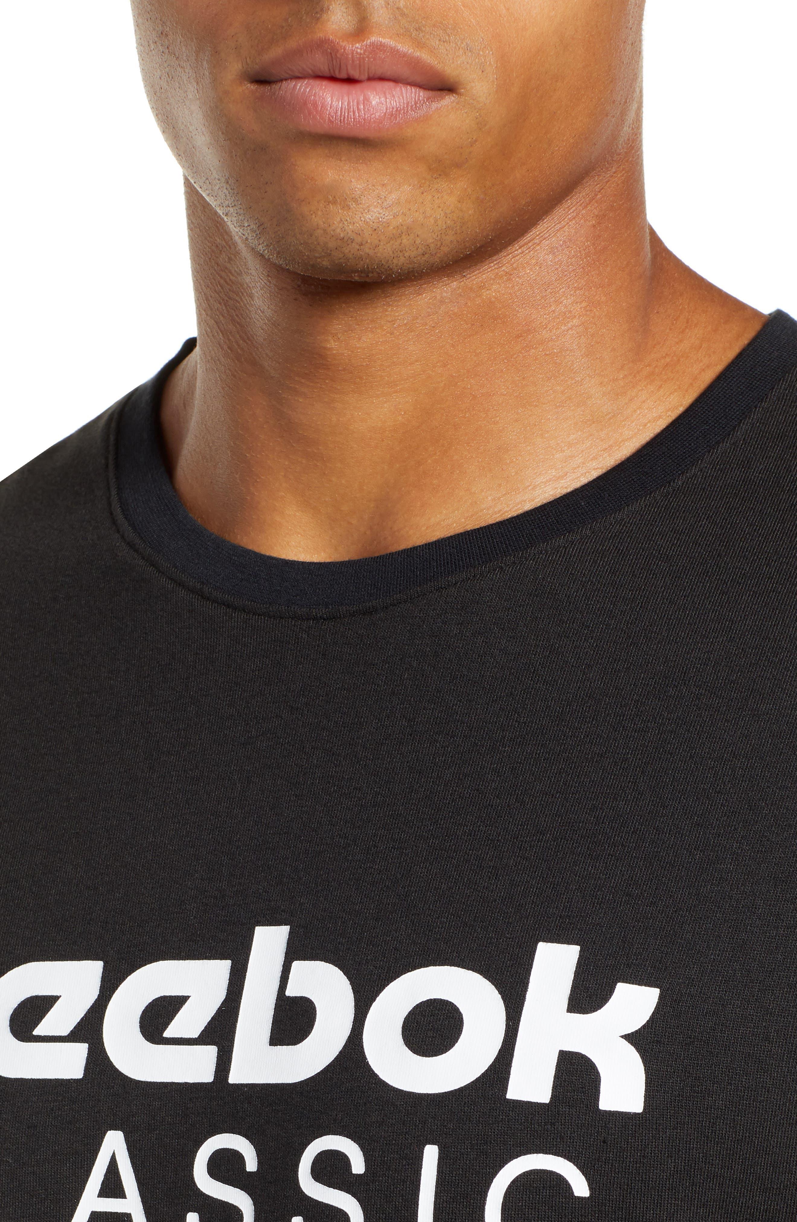 Longline Unisex T-Shirt,                             Alternate thumbnail 4, color,                             BLACK