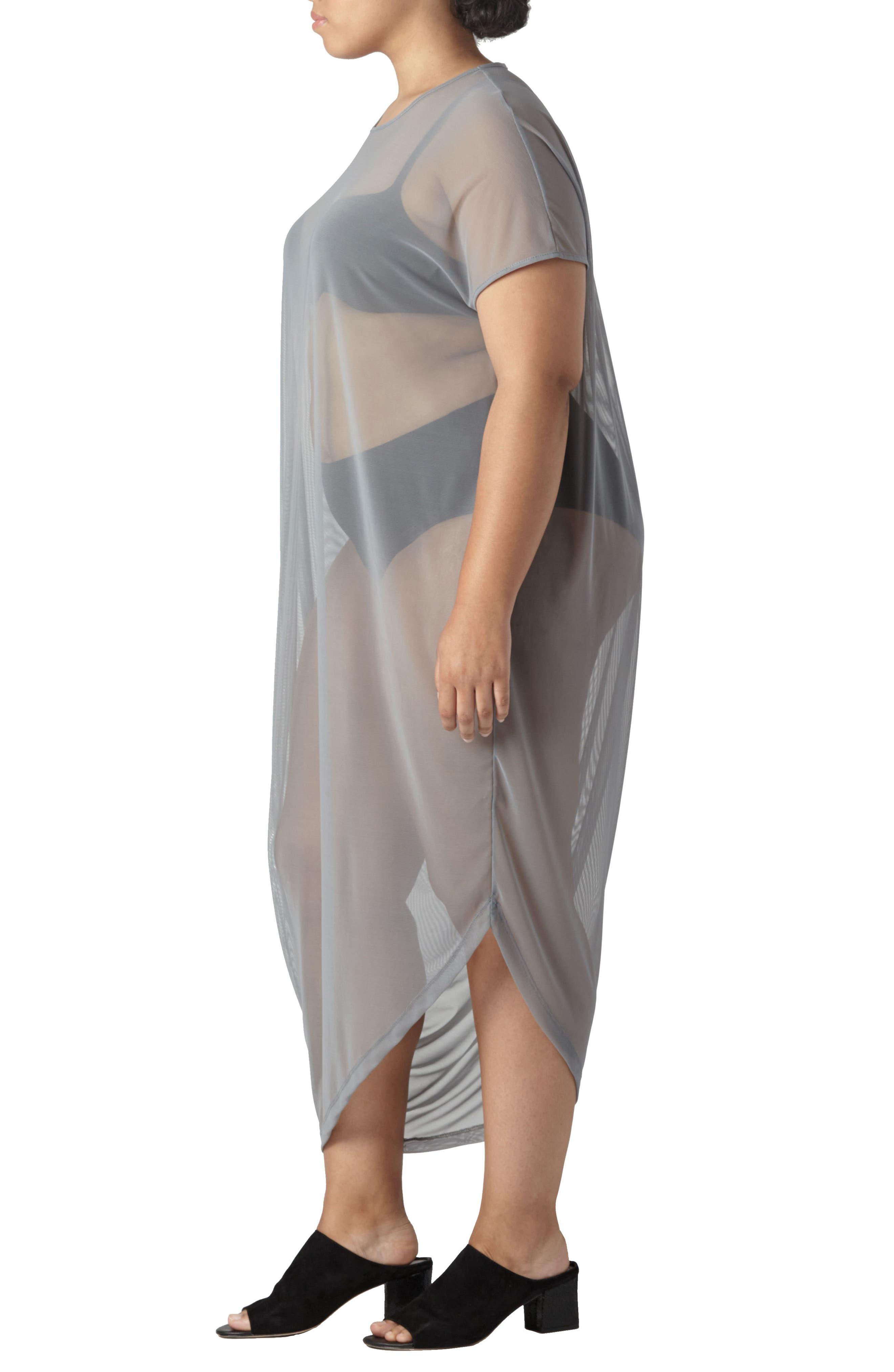 Geneva Fog Dress,                             Alternate thumbnail 8, color,