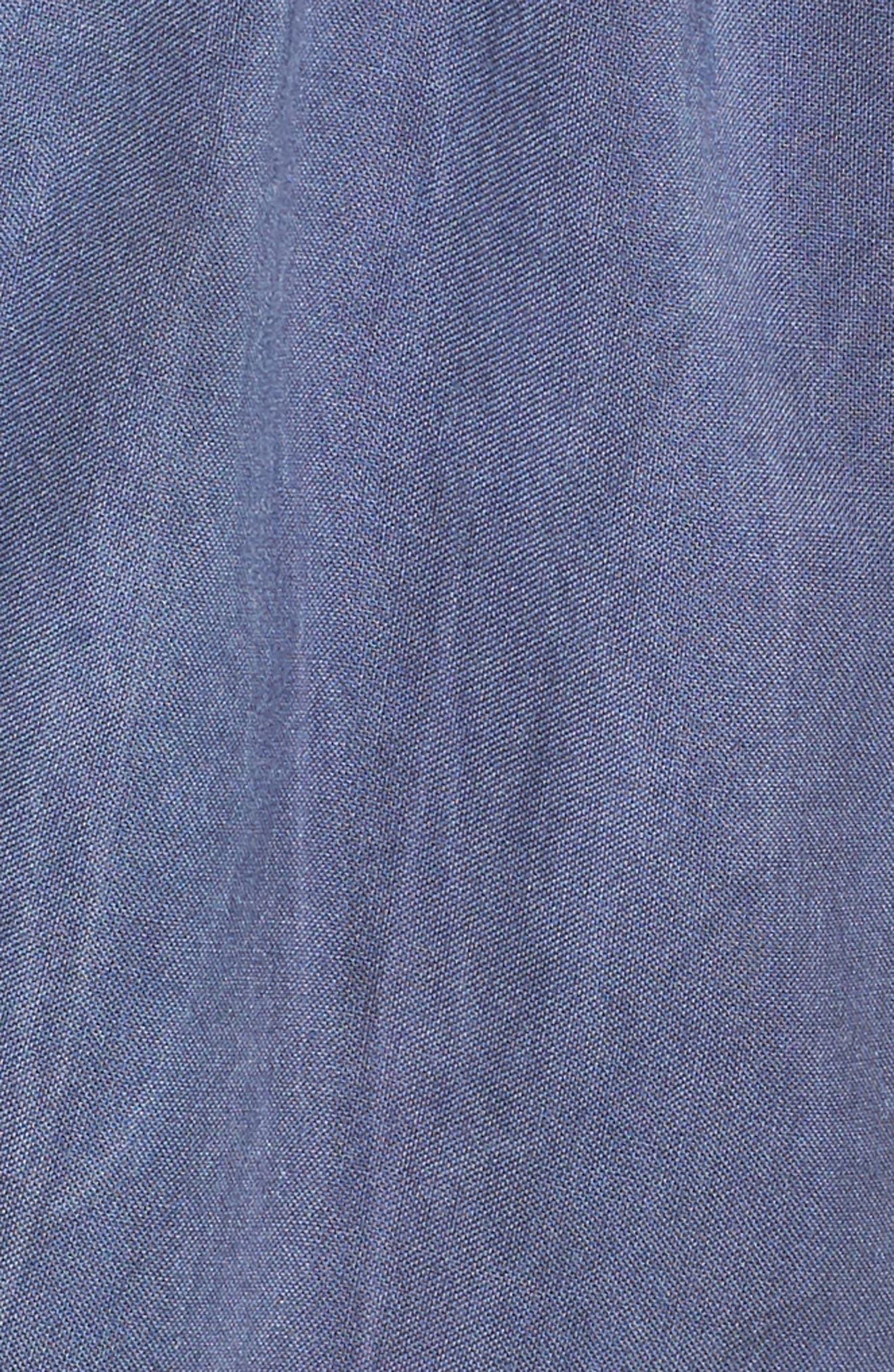 Tie Front Cutout Romper,                             Alternate thumbnail 5, color,                             020