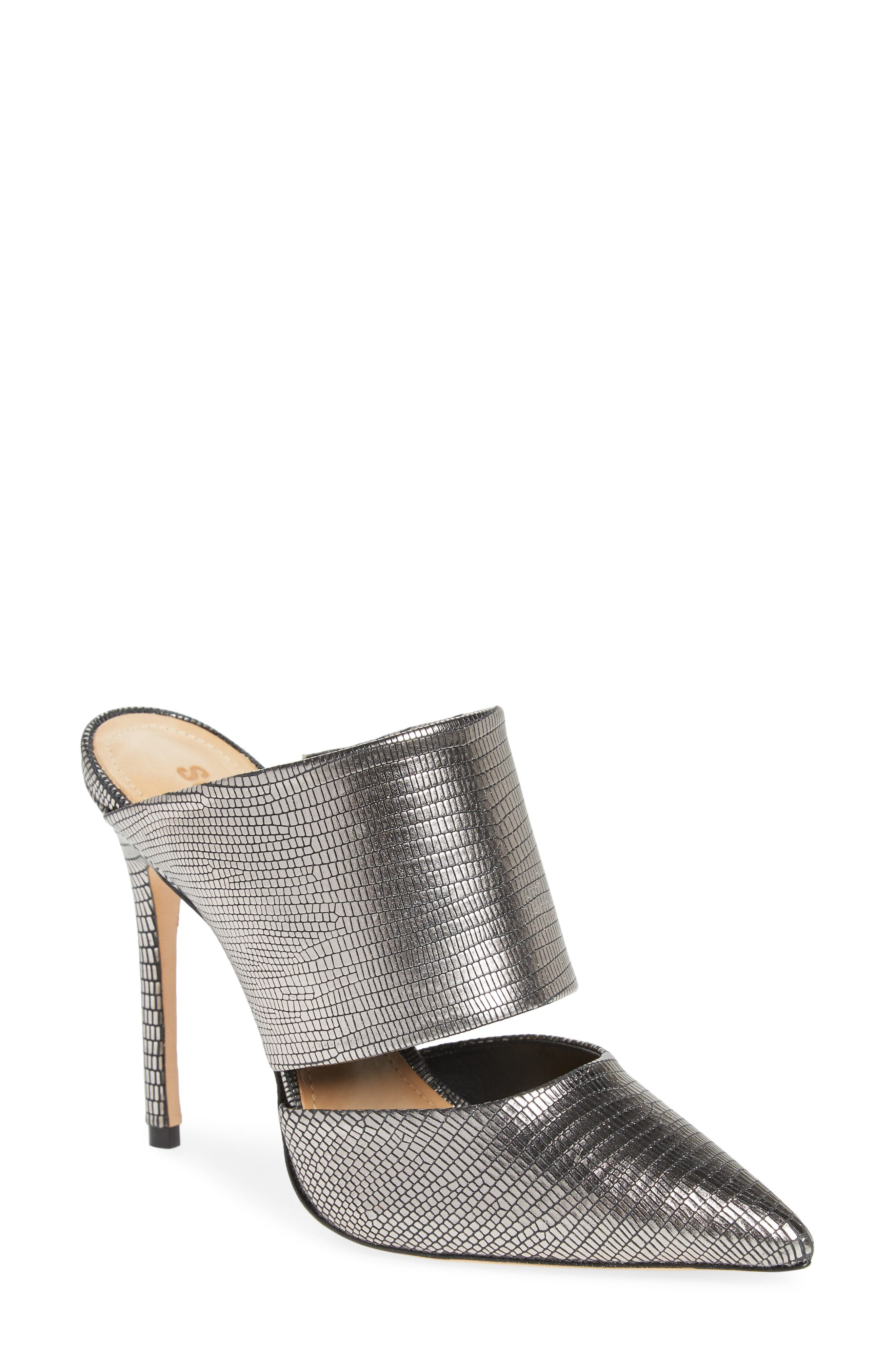 Quereda Cutout Mule,                         Main,                         color, 040