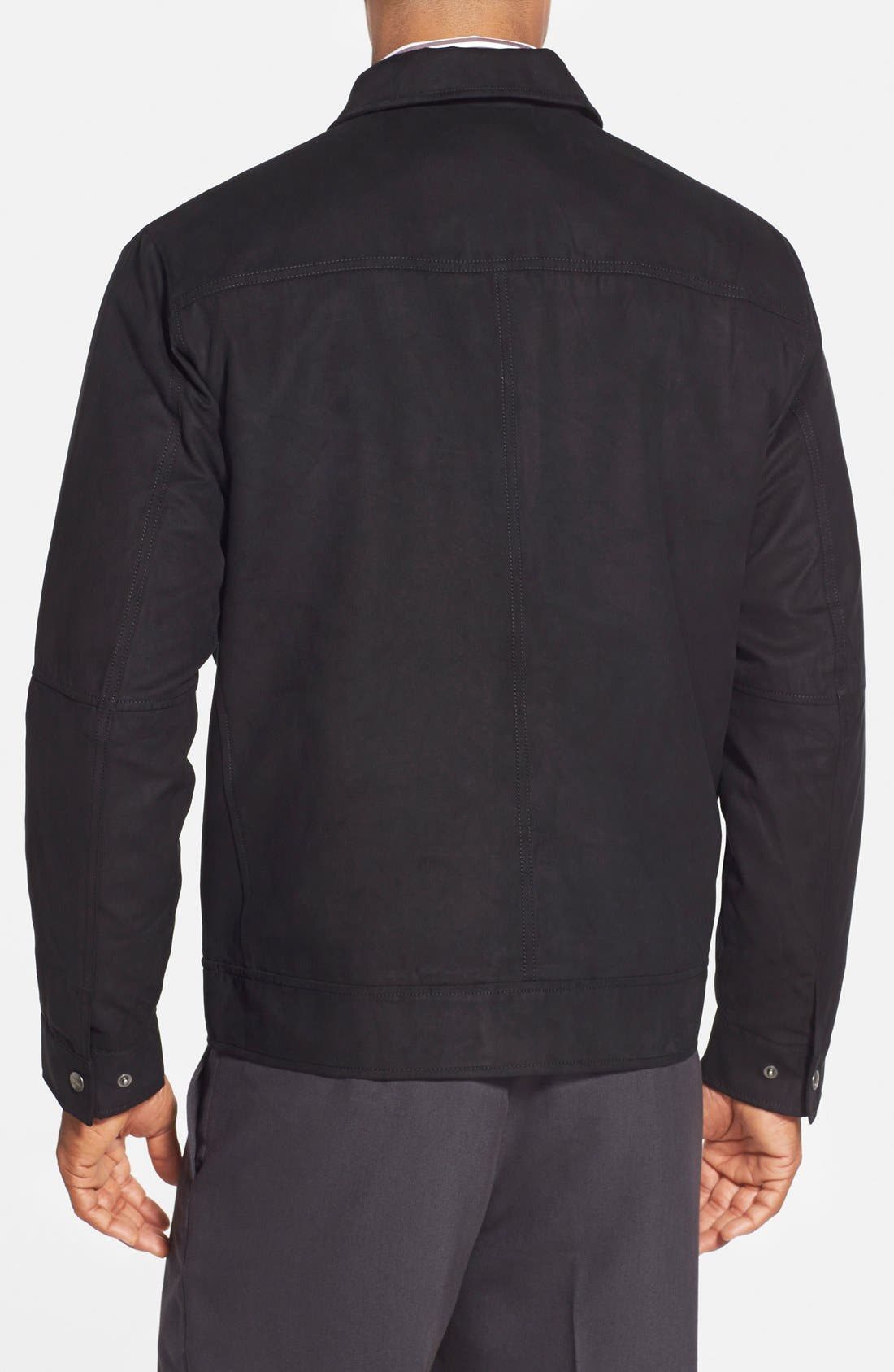 'Roosevelt' Classic Fit Water Resistant Full Zip Jacket,                             Alternate thumbnail 5, color,
