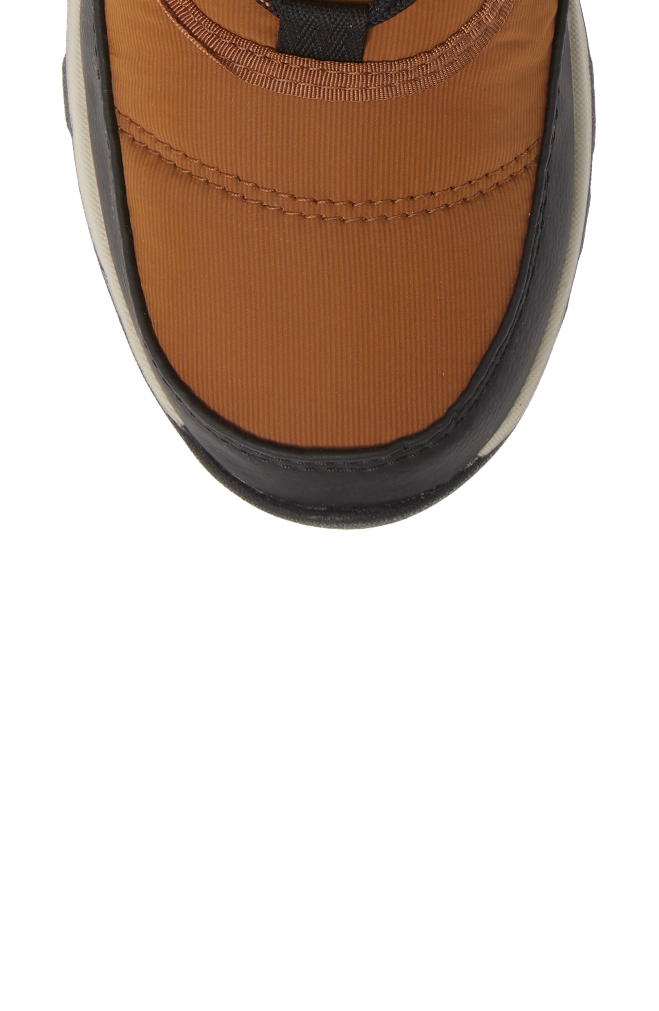 Whitney Snow Bootie,                             Alternate thumbnail 5, color,                             CAMEL BROWN