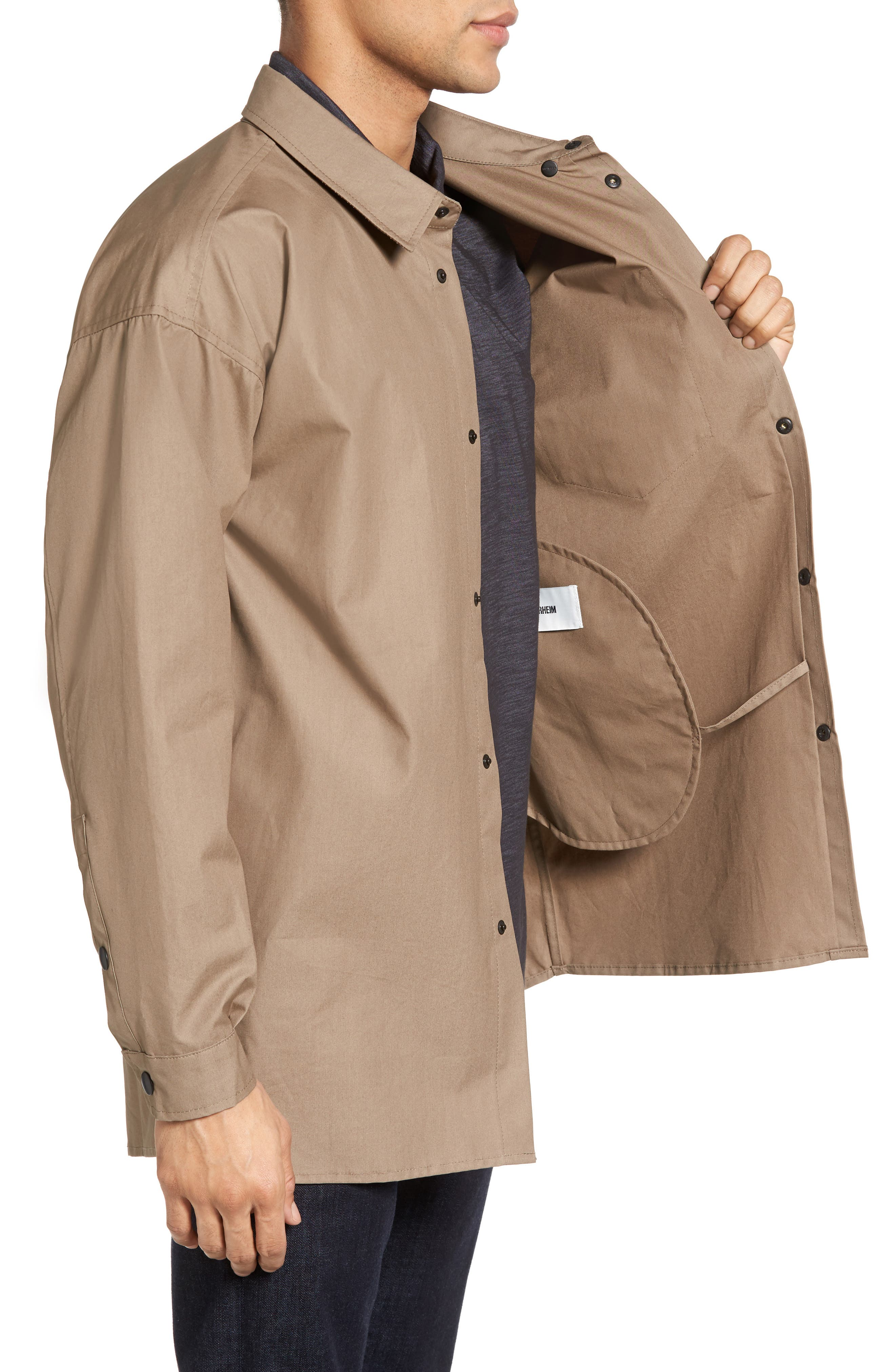 Lerum Relaxed Fit Shirt Jacket,                             Alternate thumbnail 5, color,
