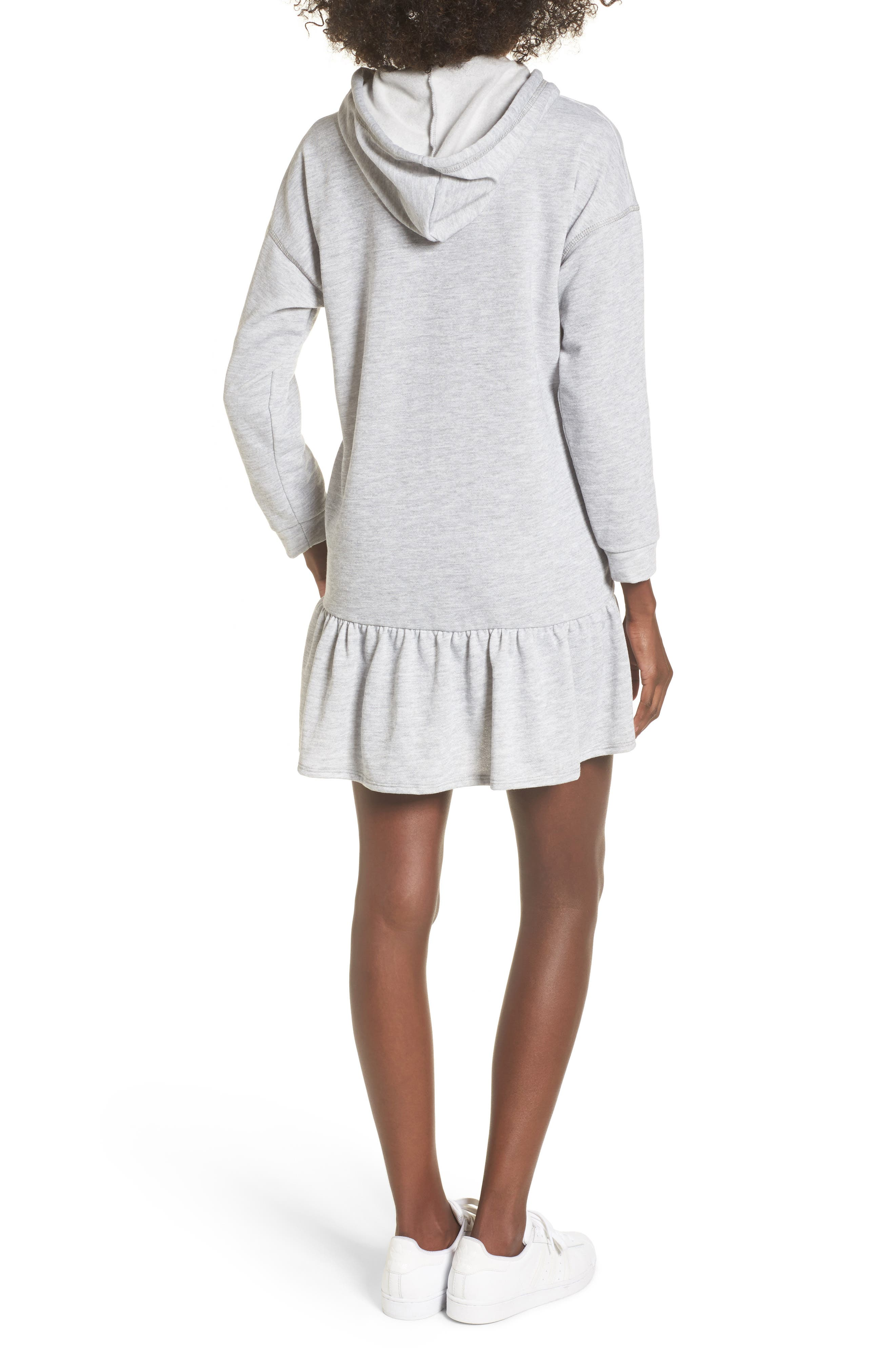 Drop Waist Sweatshirt Dress,                             Alternate thumbnail 2, color,                             030
