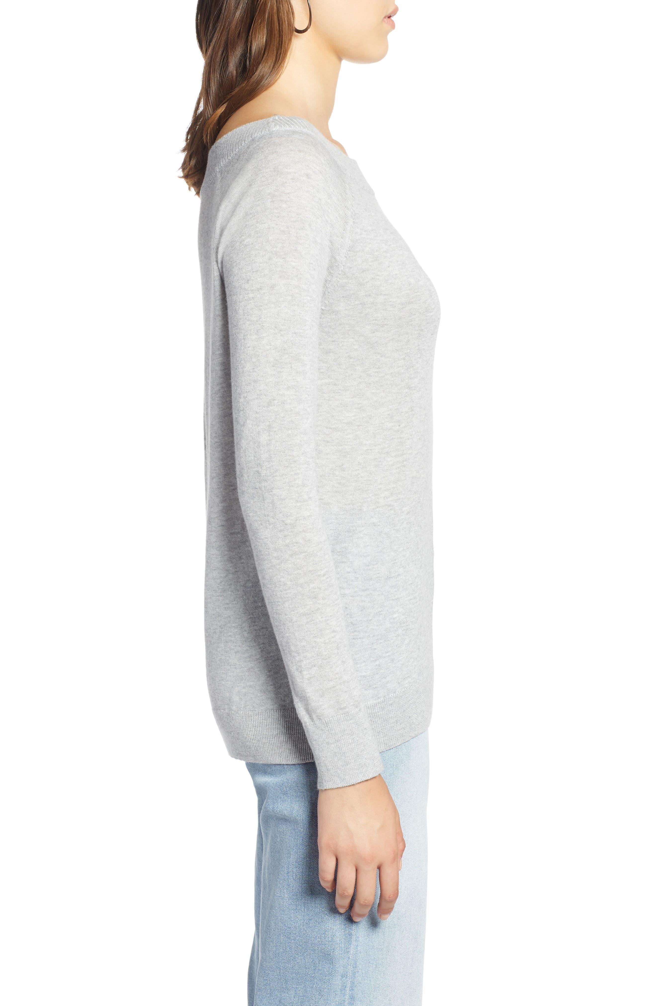 Convertible Bateau Neck Sweater,                             Alternate thumbnail 11, color,