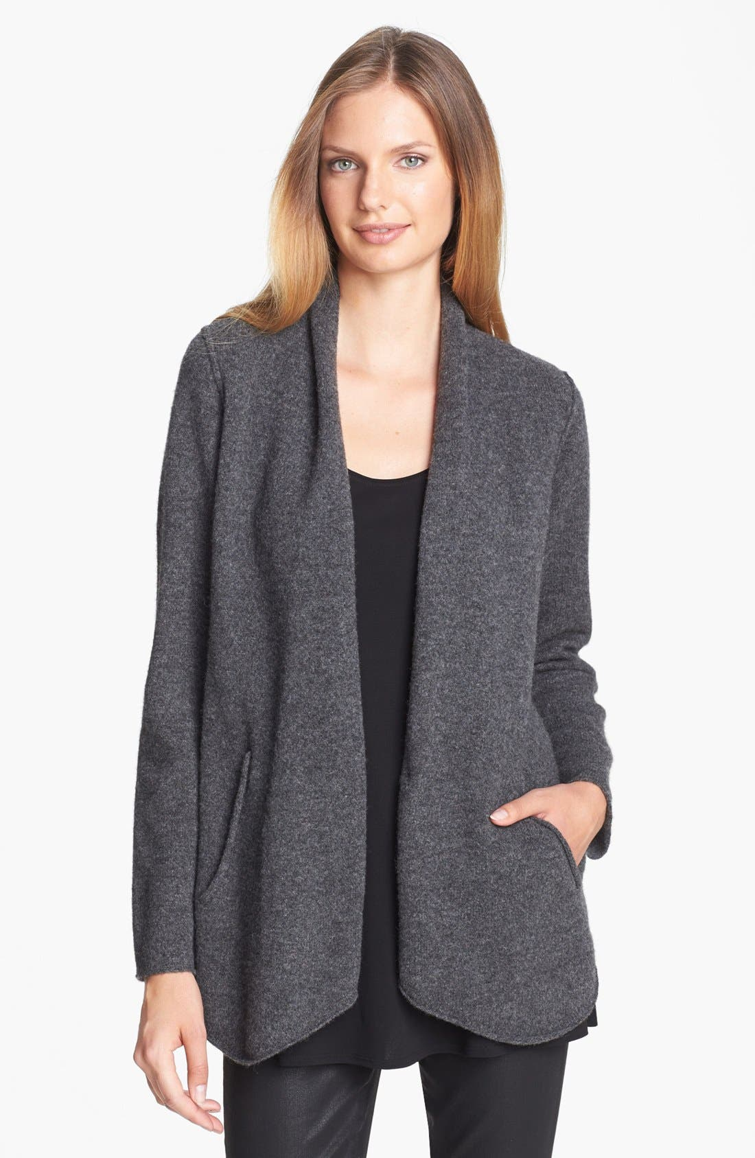 Felted Wool Jacket,                         Main,                         color, 021