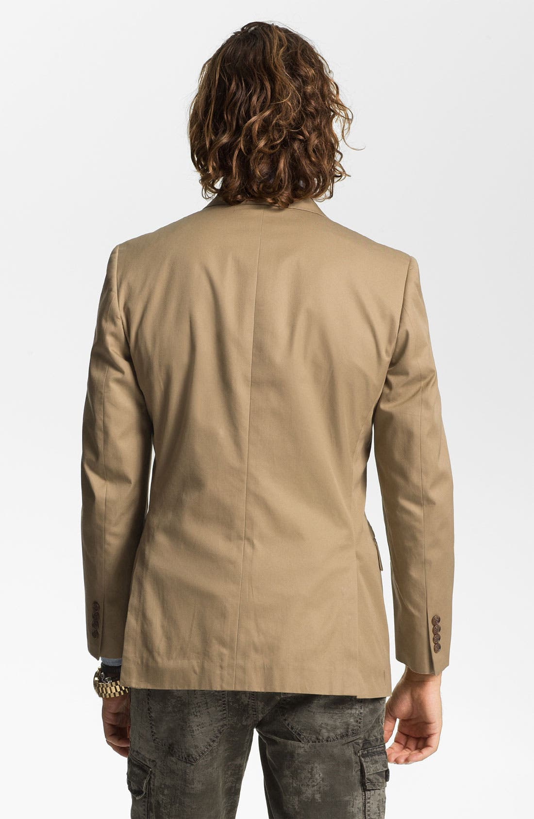 Cotton Blazer,                             Alternate thumbnail 9, color,