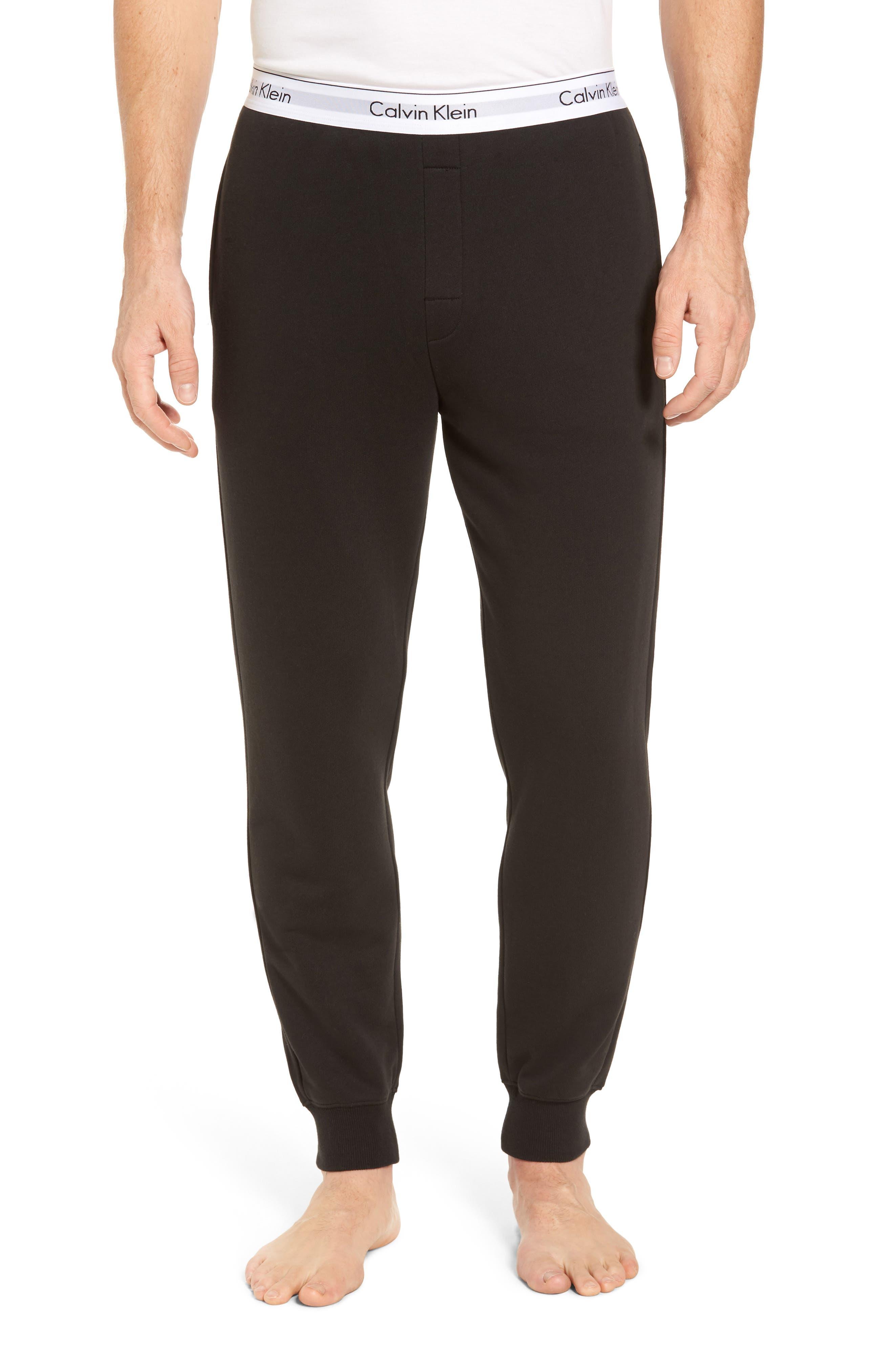 Modern Cotton Blend Lounge Pants,                             Main thumbnail 1, color,                             002