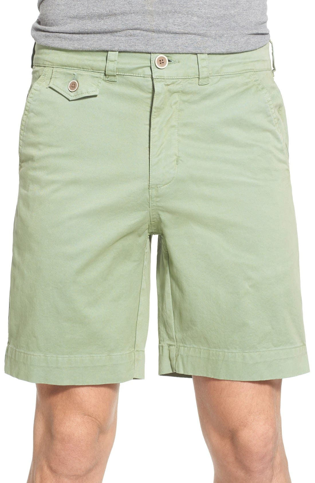 'Sunny' Stretch Chino Shorts,                             Main thumbnail 1, color,