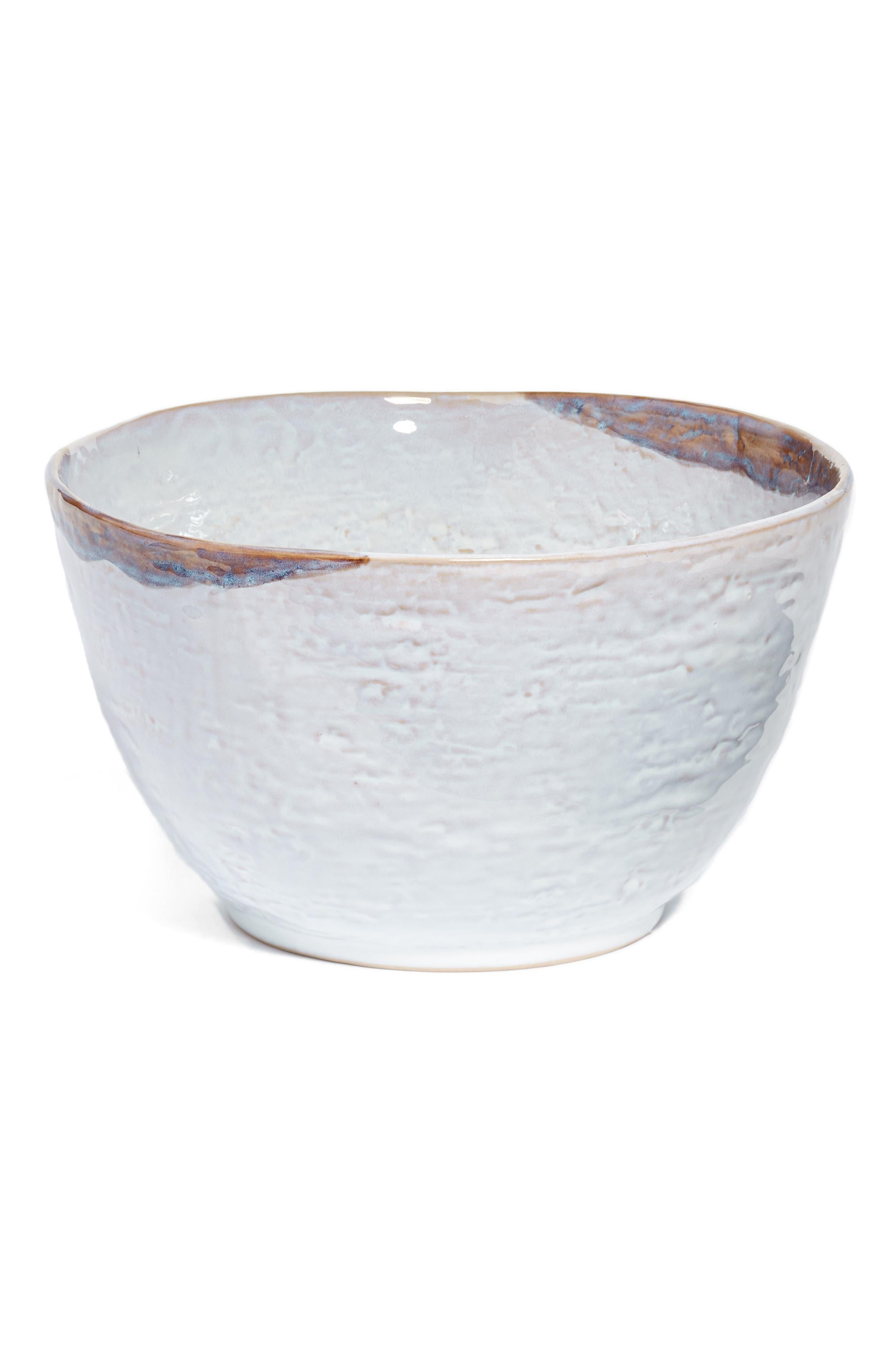 Watercolor Ceramic Bowl,                         Main,                         color, 900