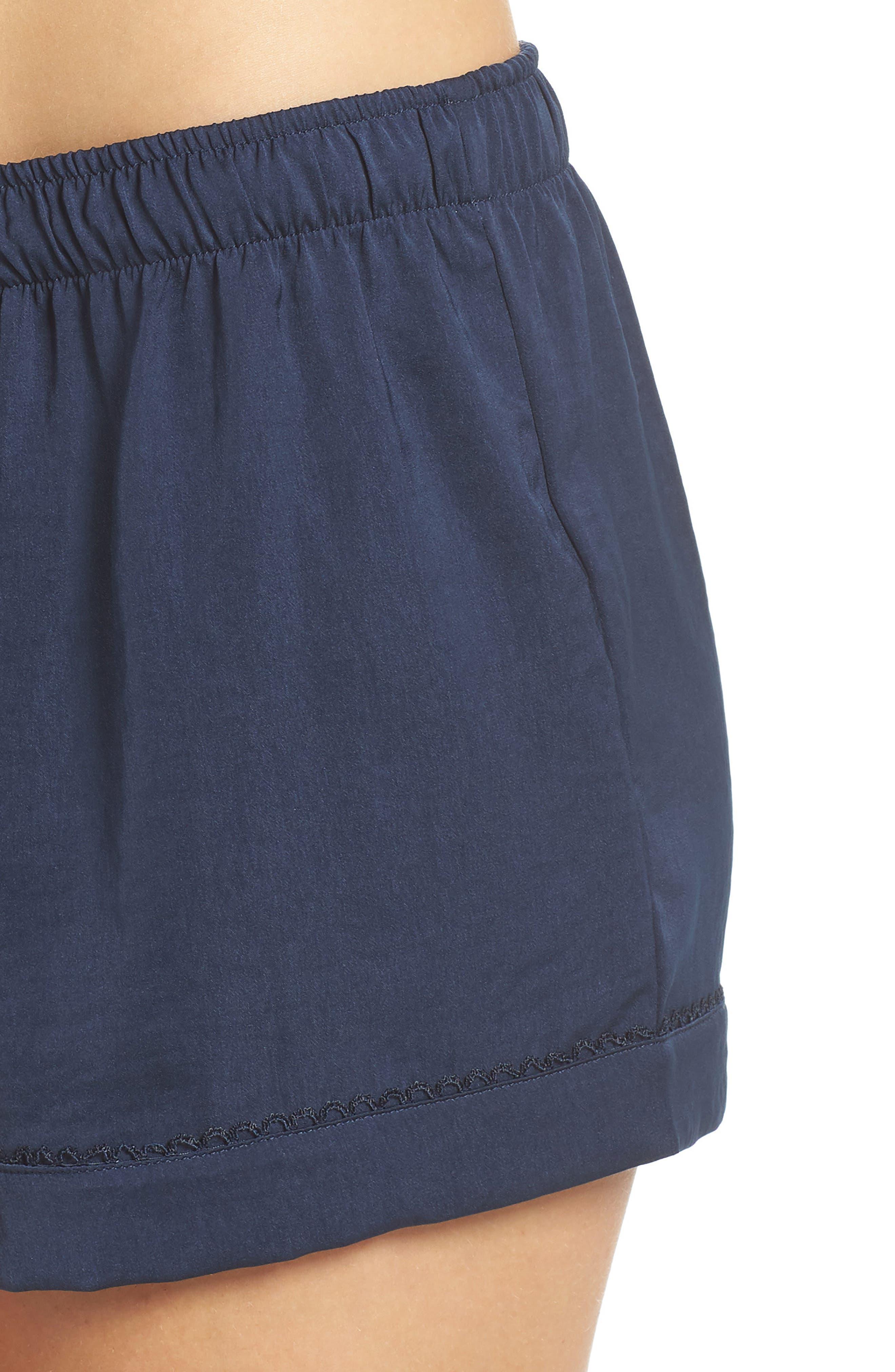 Pajama Shorts,                             Alternate thumbnail 4, color,                             400