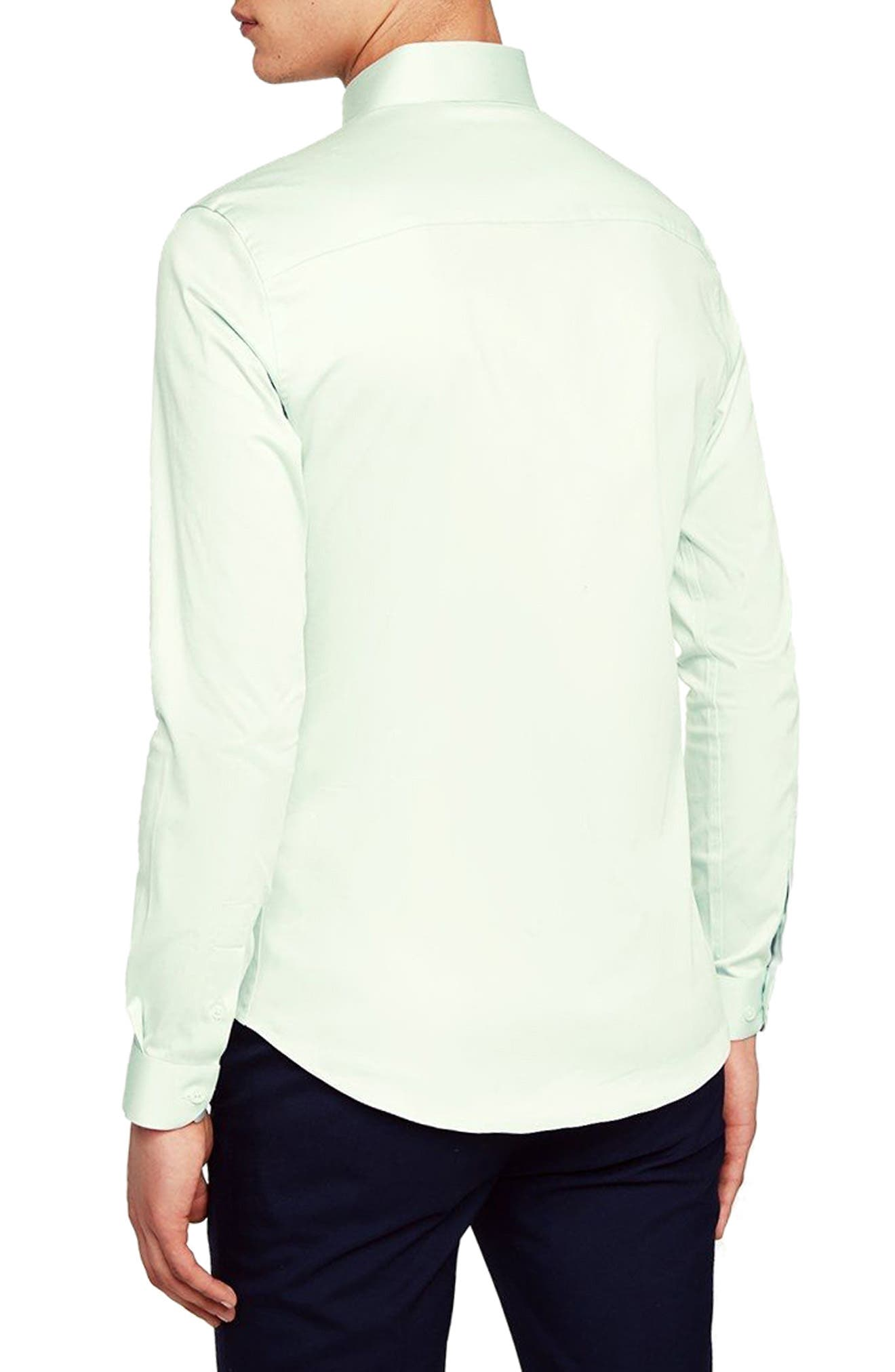 Stretch Cotton Shirt,                             Alternate thumbnail 2, color,                             330