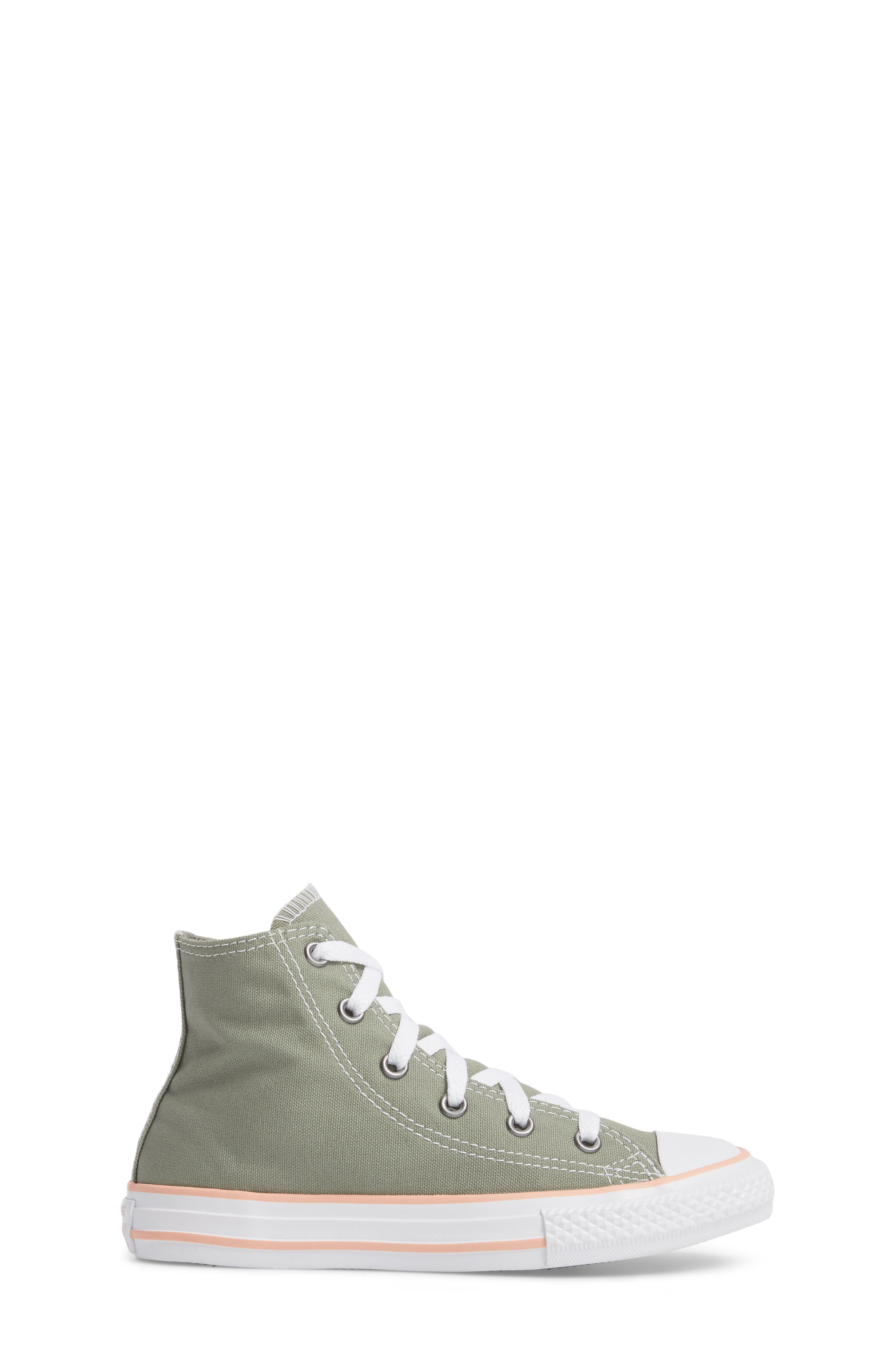 Chuck Taylor<sup>®</sup> All Star<sup>®</sup> High Top Sneaker,                             Alternate thumbnail 7, color,