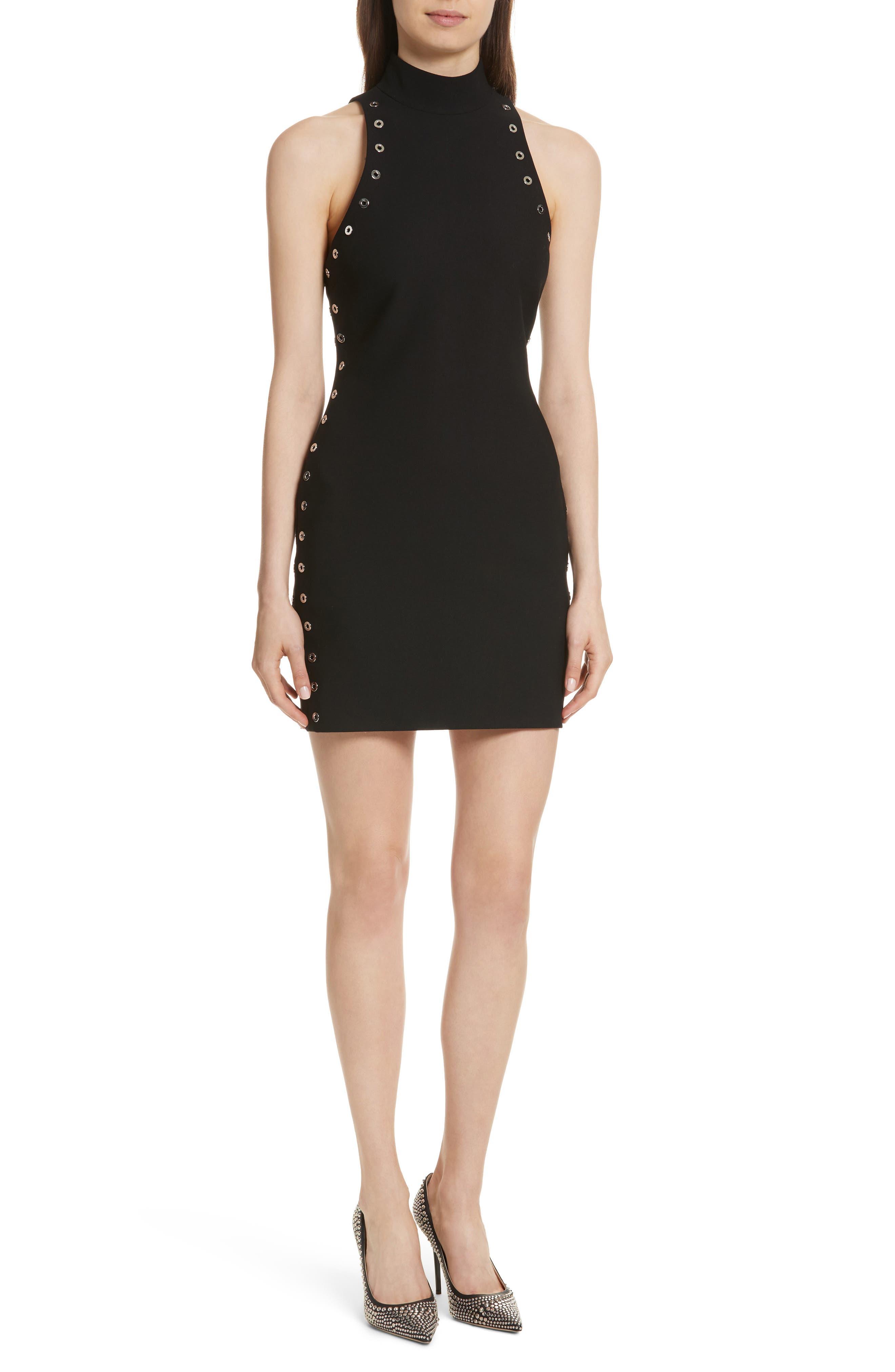 Ava Grommet Minidress,                         Main,                         color, 001