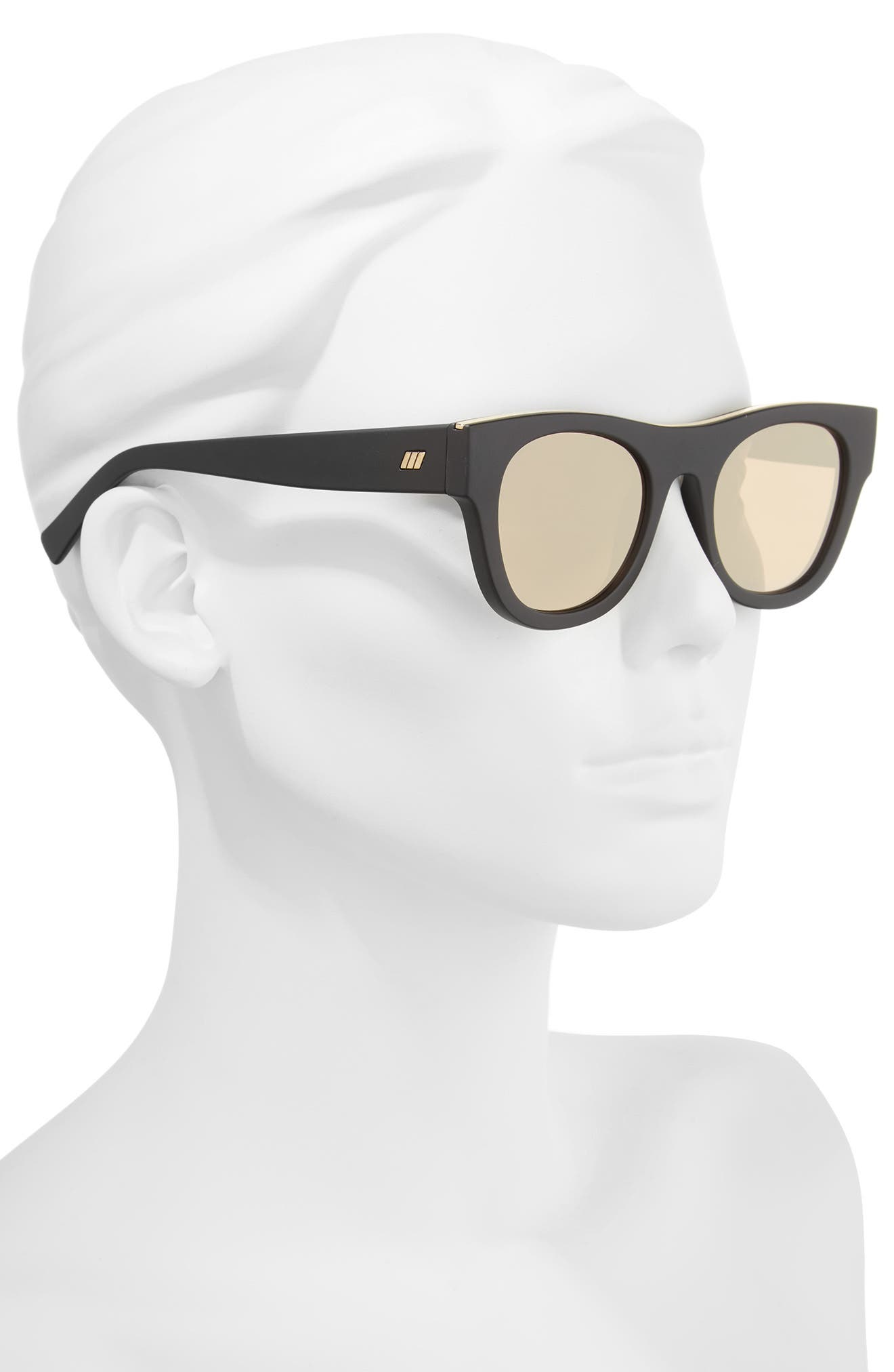 Arcadia 49mm Sunglasses,                             Alternate thumbnail 4, color,