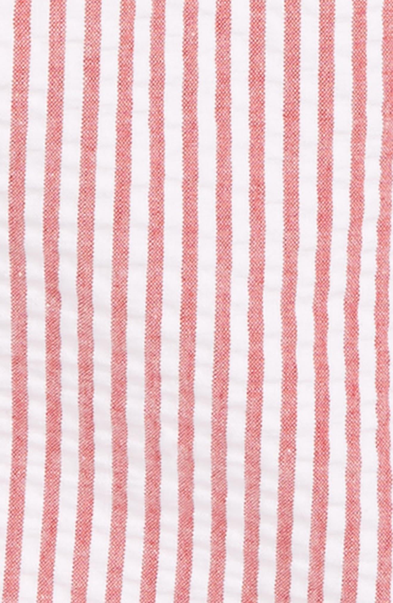LITTLE ME,                             Nautical Polo & Stripe Overall Shorts Set,                             Main thumbnail 1, color,                             648