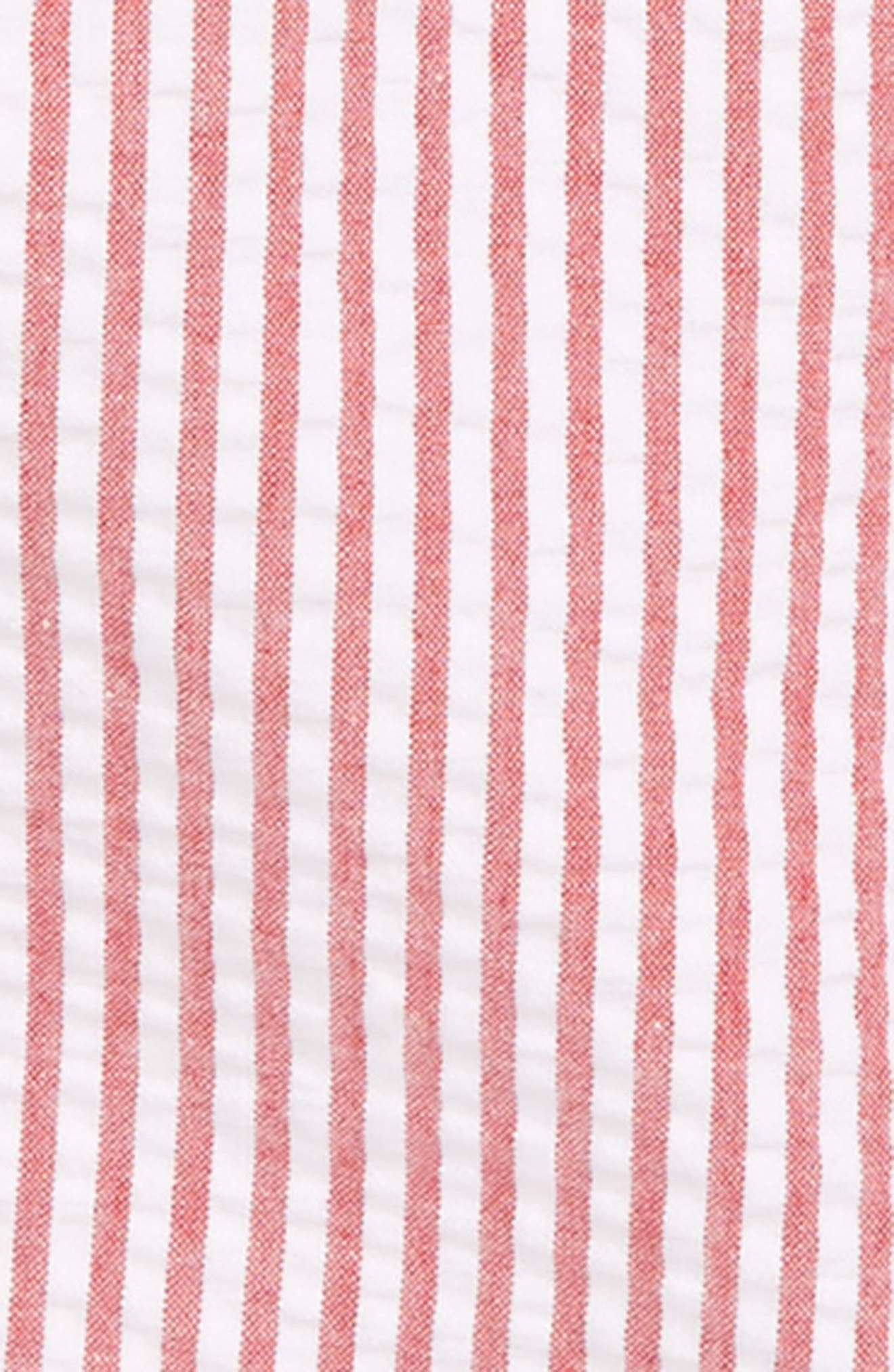 LITTLE ME Nautical Polo & Stripe Overall Shorts Set, Main, color, 648